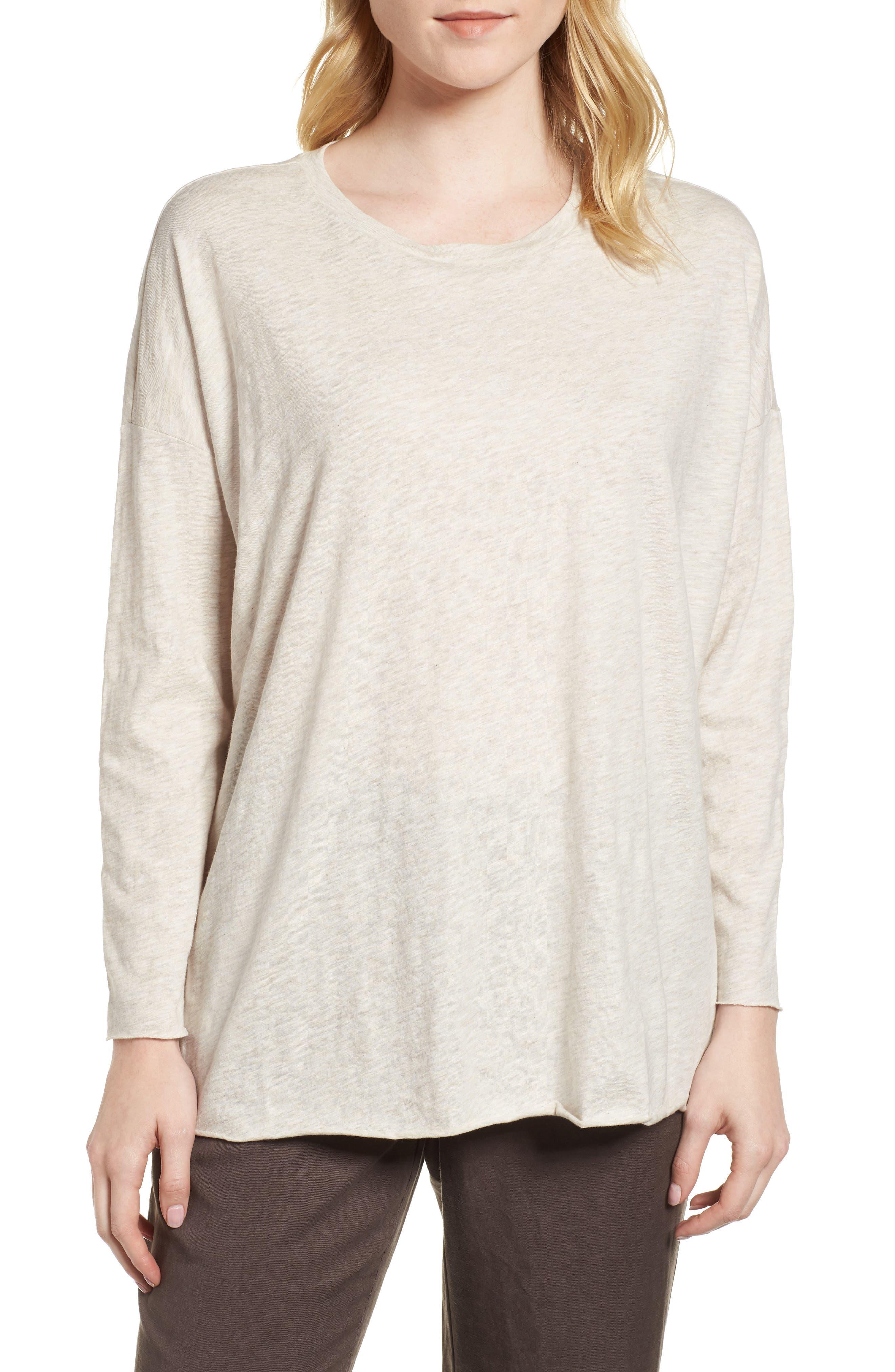 Organic Cotton Tunic,                         Main,                         color, Natural