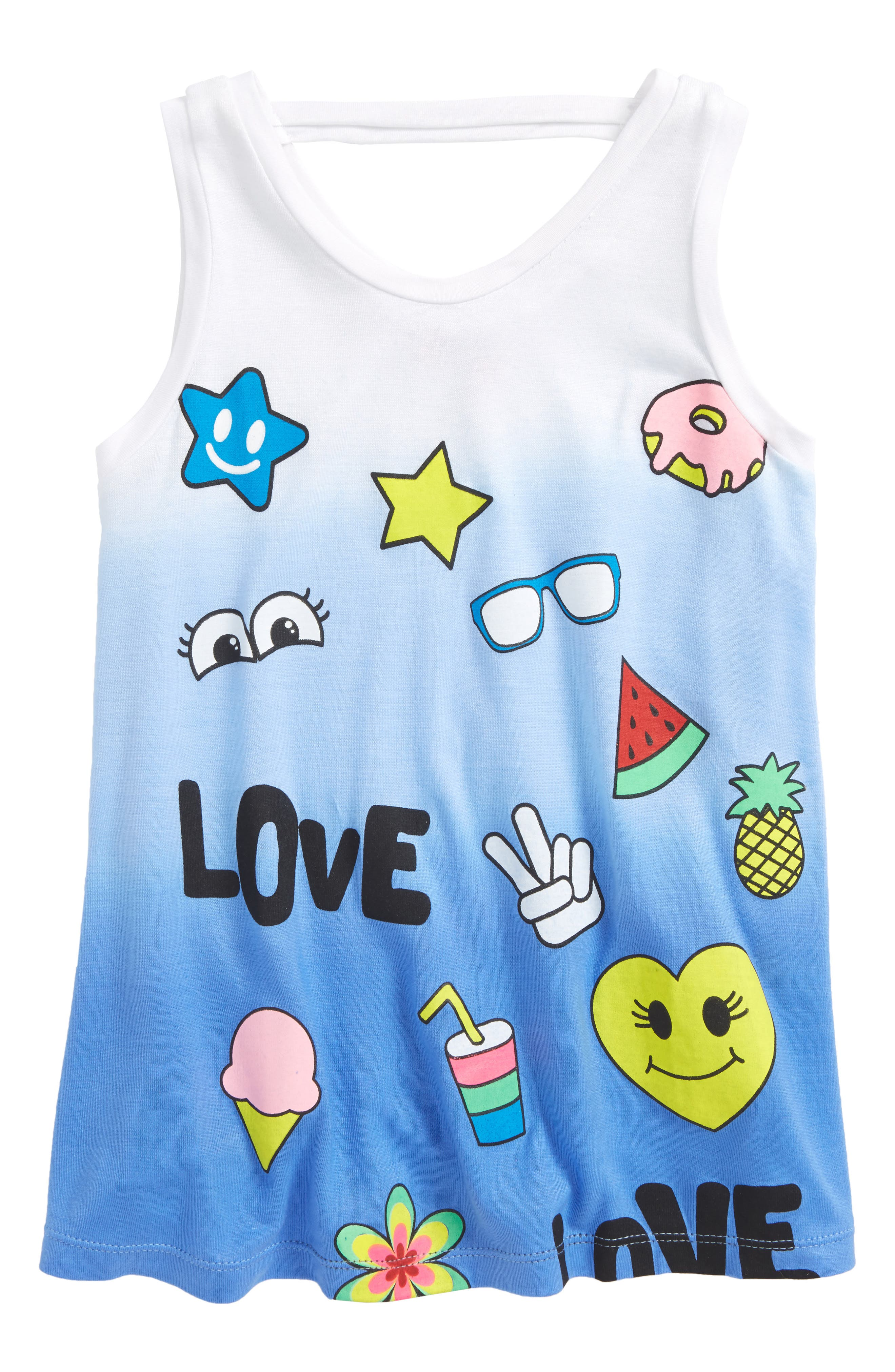 Flowers by Zoe Patch Graphic Tank (Big Girls)
