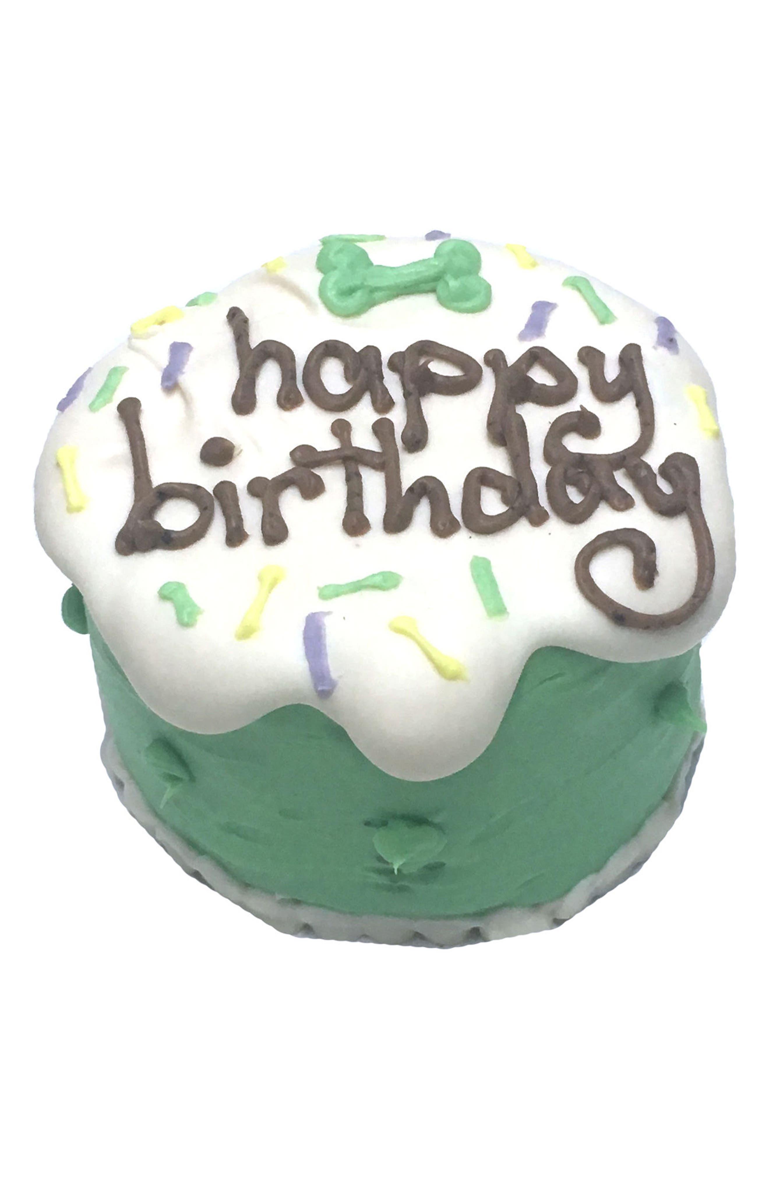 Main Image - Bubba Rose Biscuit Company Unisex Birthday Baby Cake Dog Treat