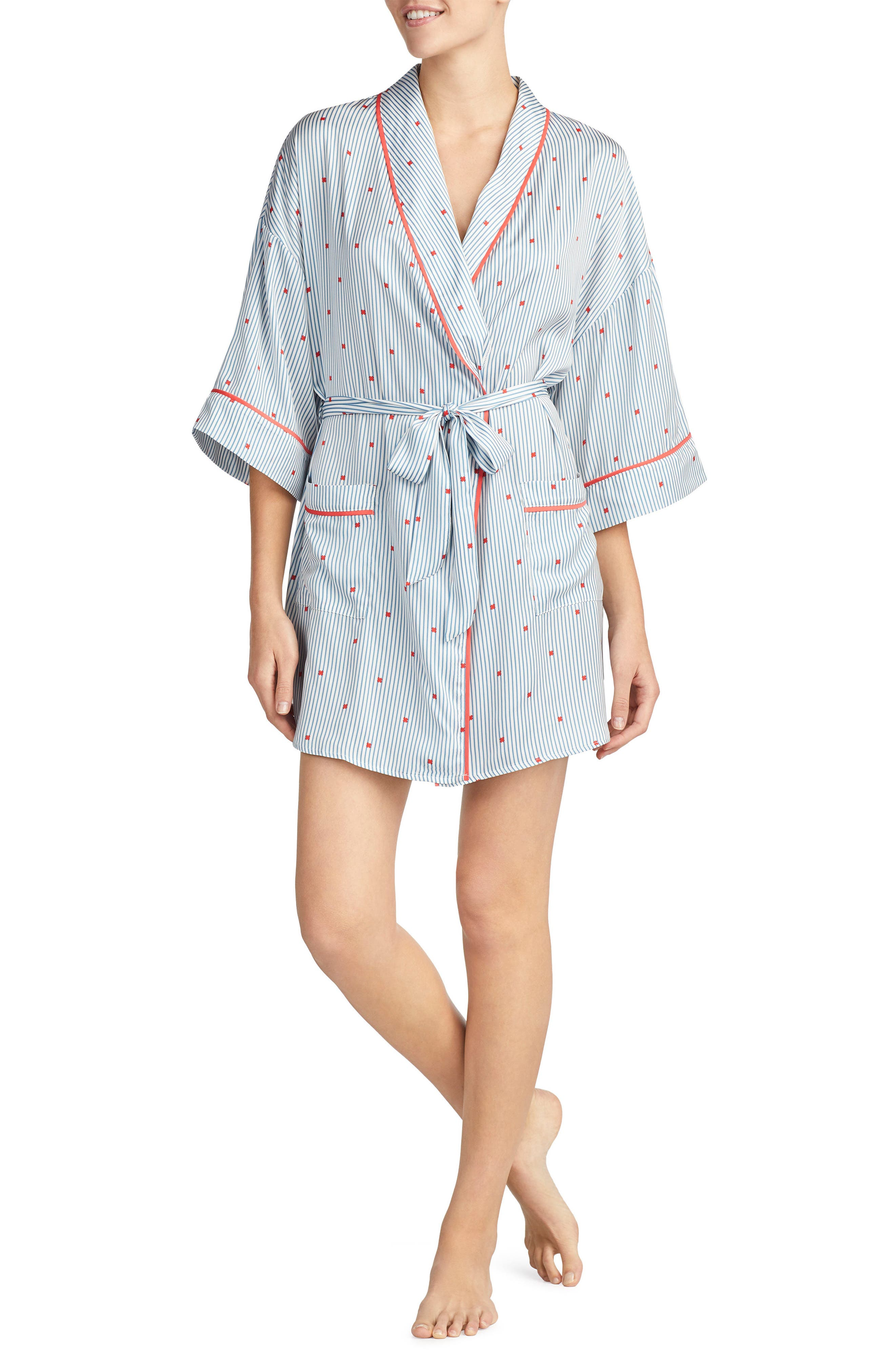 Room Service Satin Short Robe (Nordstrom Exclusive)