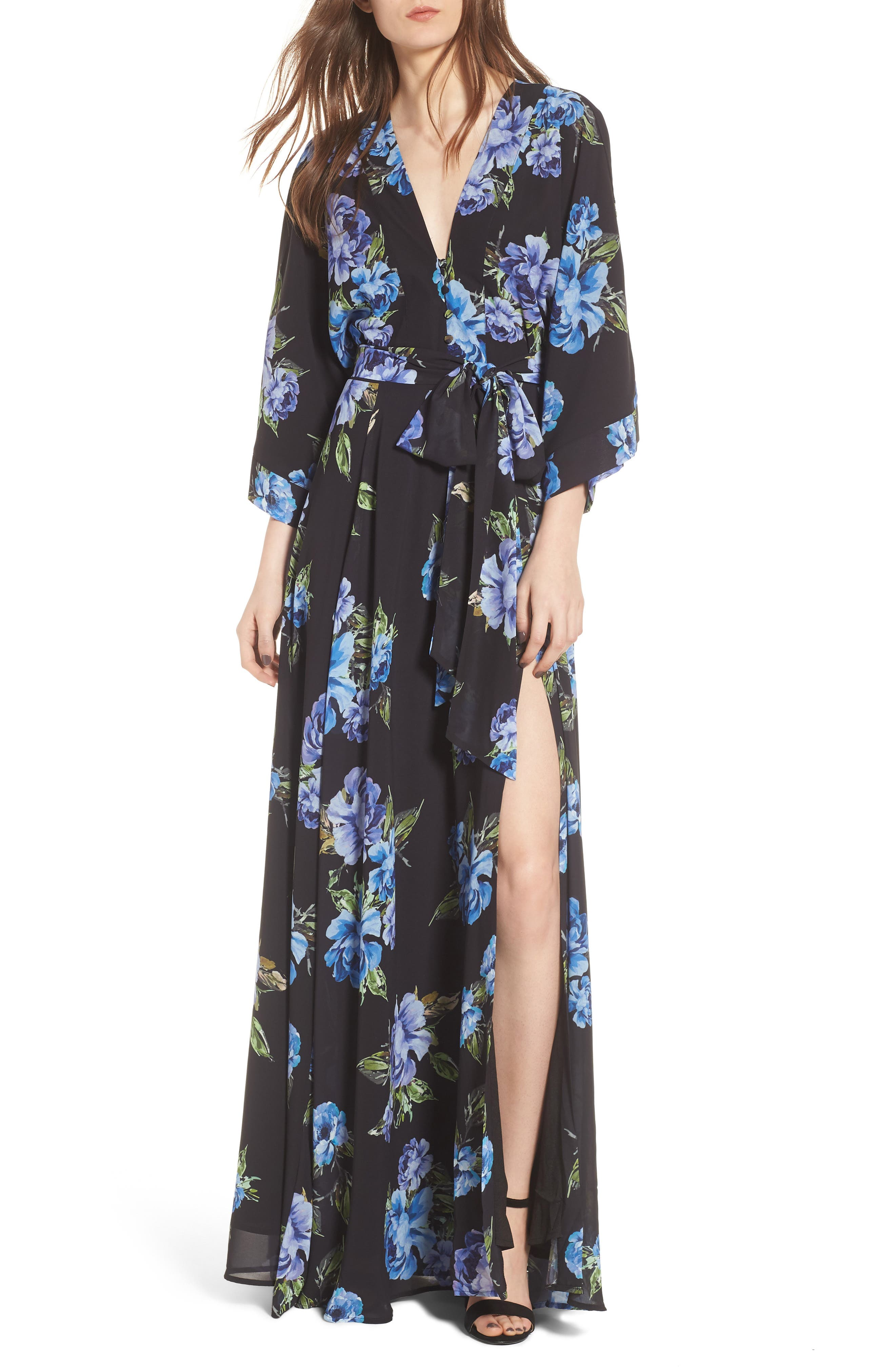Love Line Maxi Dress,                         Main,                         color, Love Line