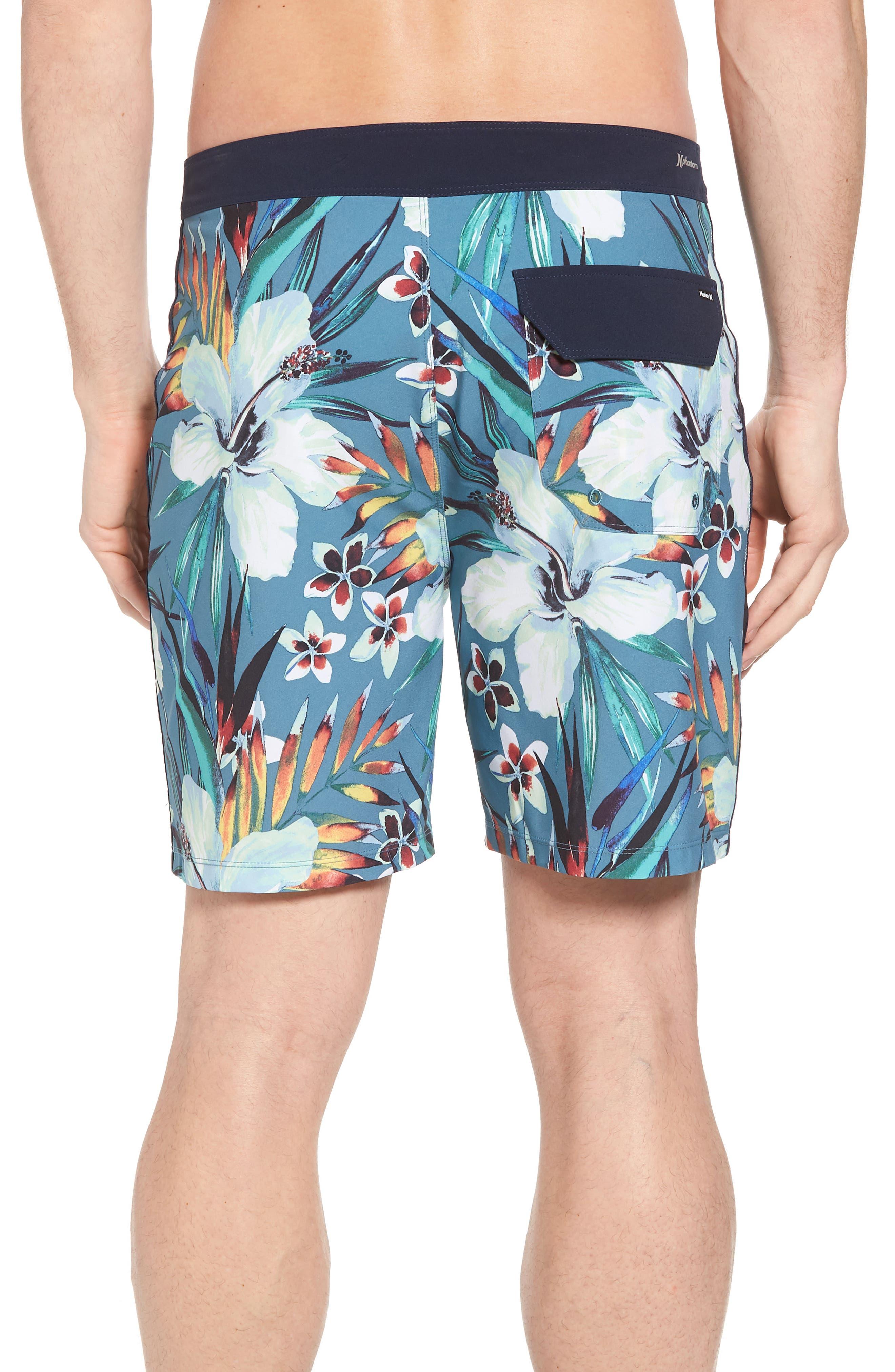 Alternate Image 2  - Hurley Phantom Garden Board Shorts