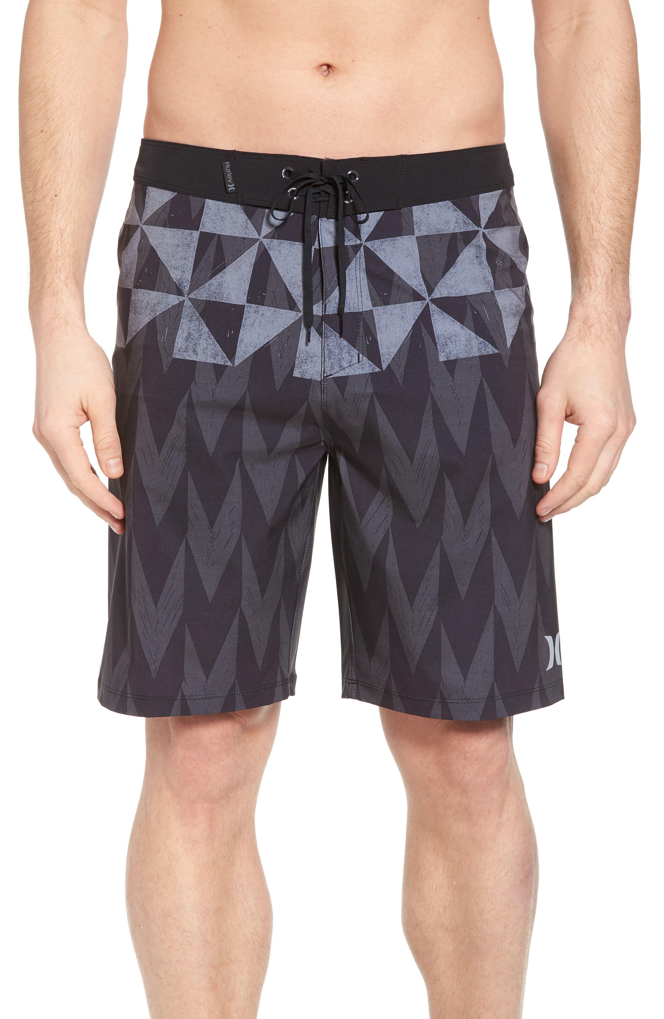Phantom Bula Board Shorts,                         Main,                         color, Black