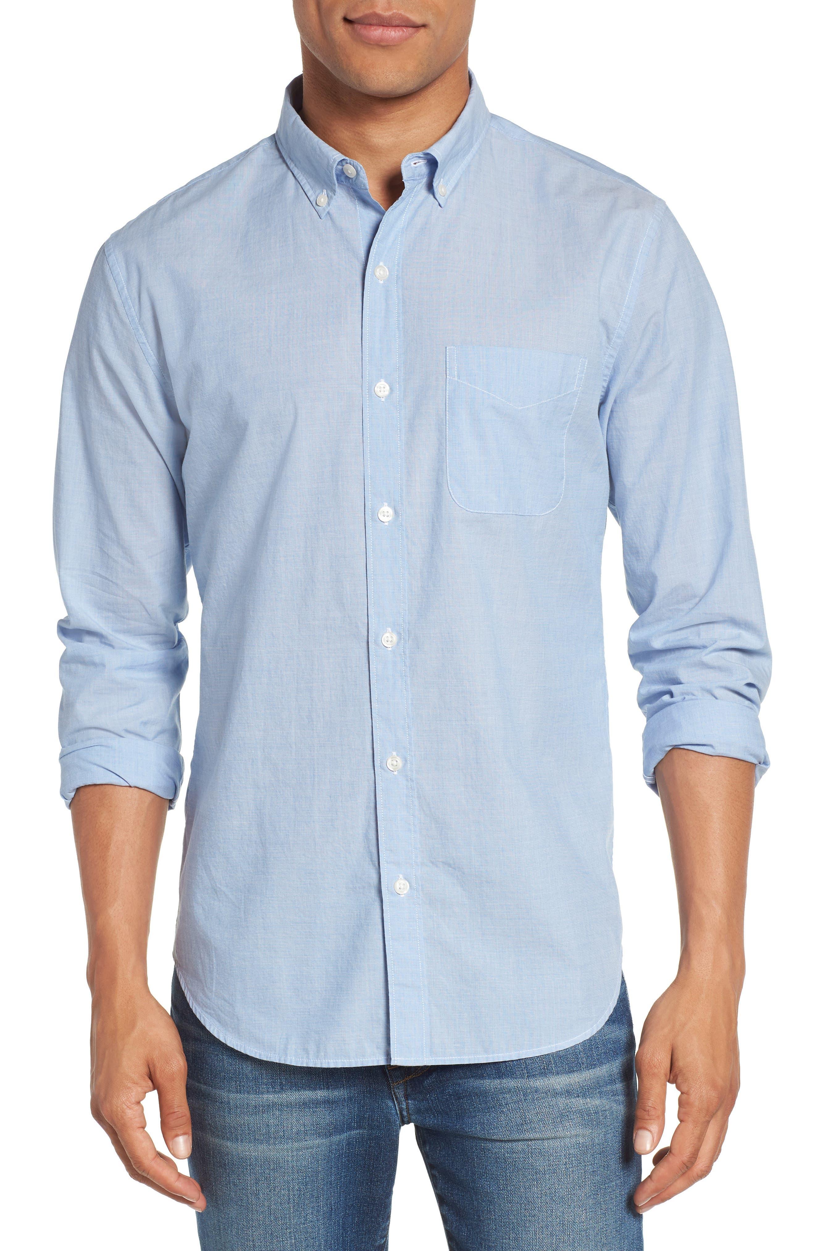 Summerweight Slim Fit Sport Shirt,                         Main,                         color, Rip Curl