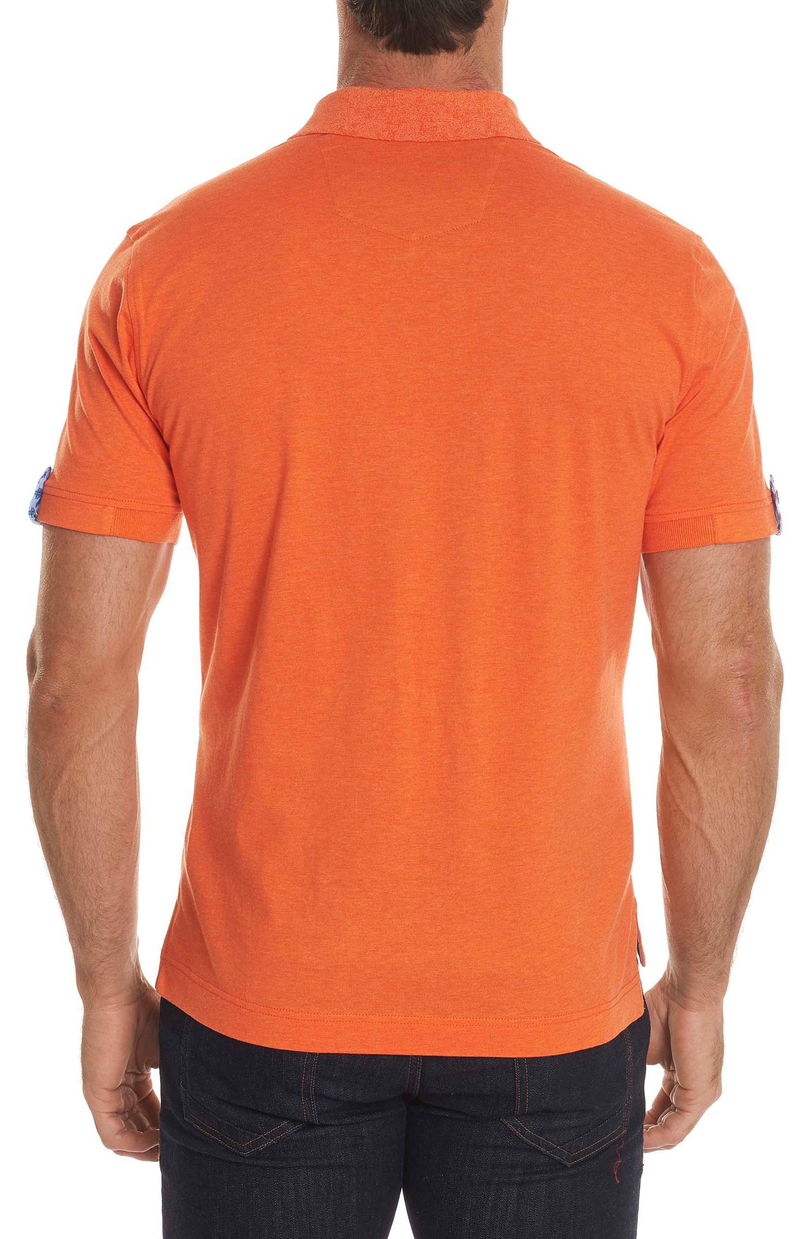 Diego Classic Fit Polo,                             Alternate thumbnail 2, color,                             Orange