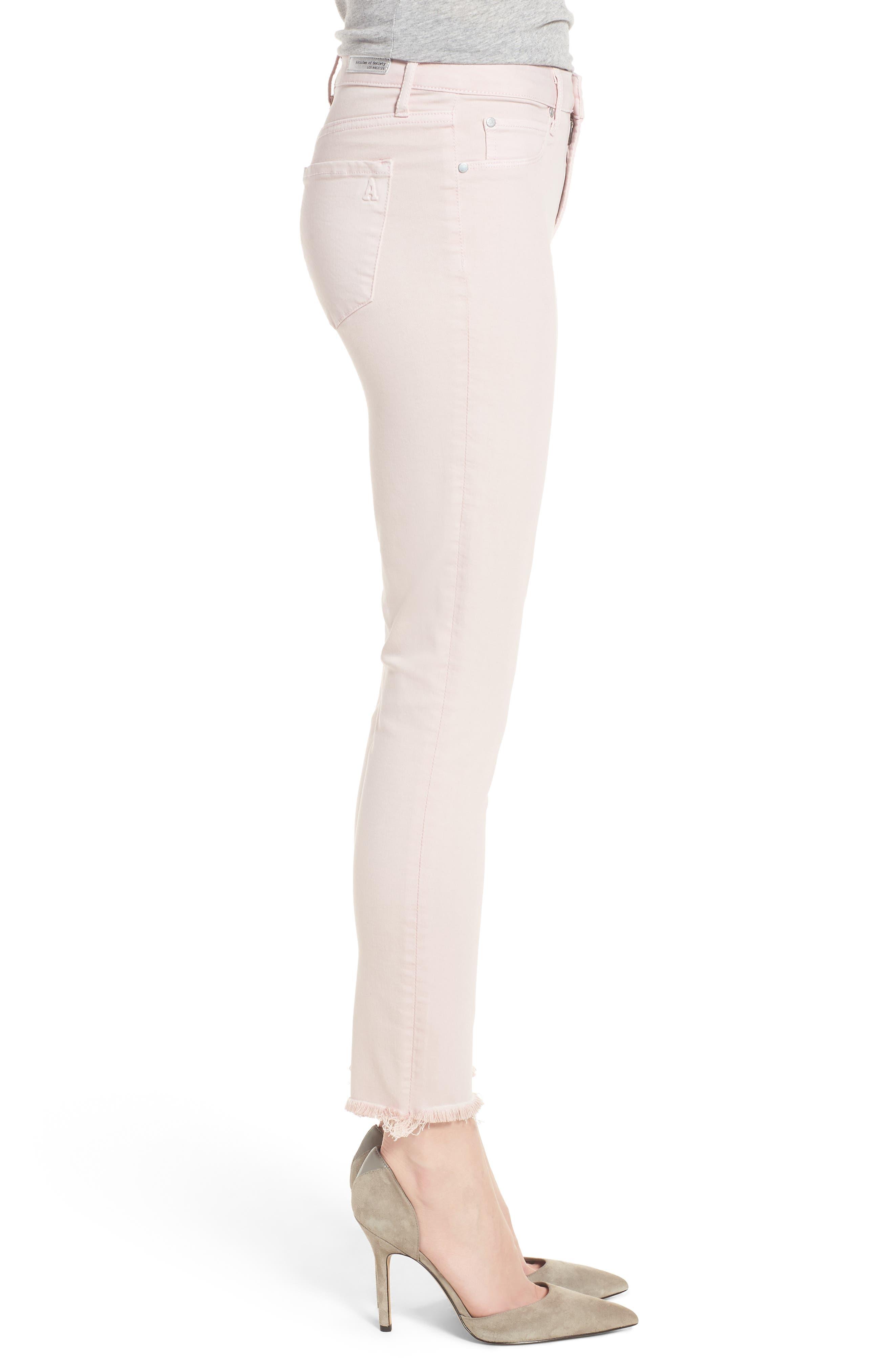 Carly Raw Hem Ankle Skinny Jeans,                             Alternate thumbnail 3, color,                             Dana Point