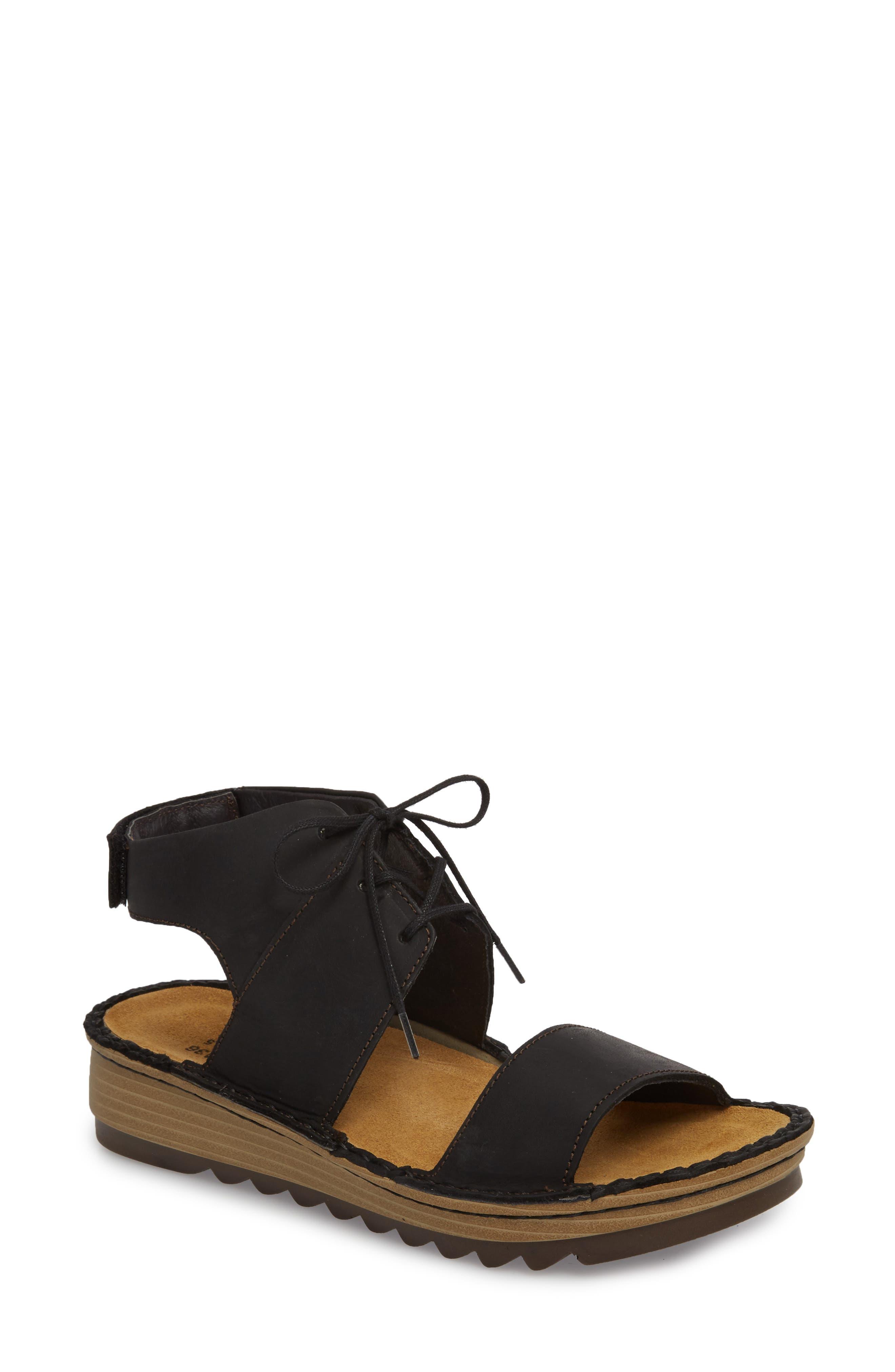 Apicola Sandal,                         Main,                         color, Oily Coal Nubuck