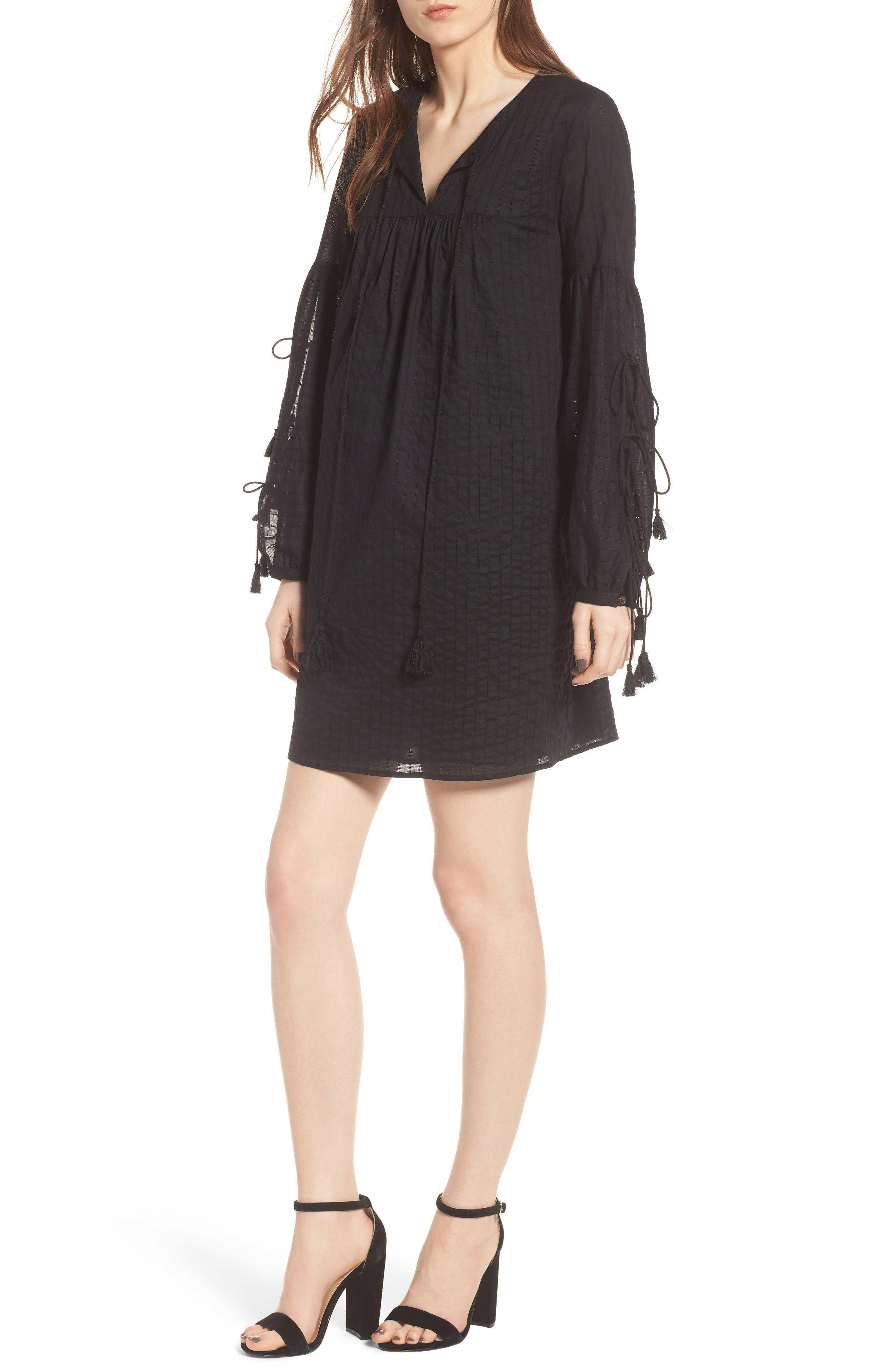 Dolly Dress,                         Main,                         color, Black
