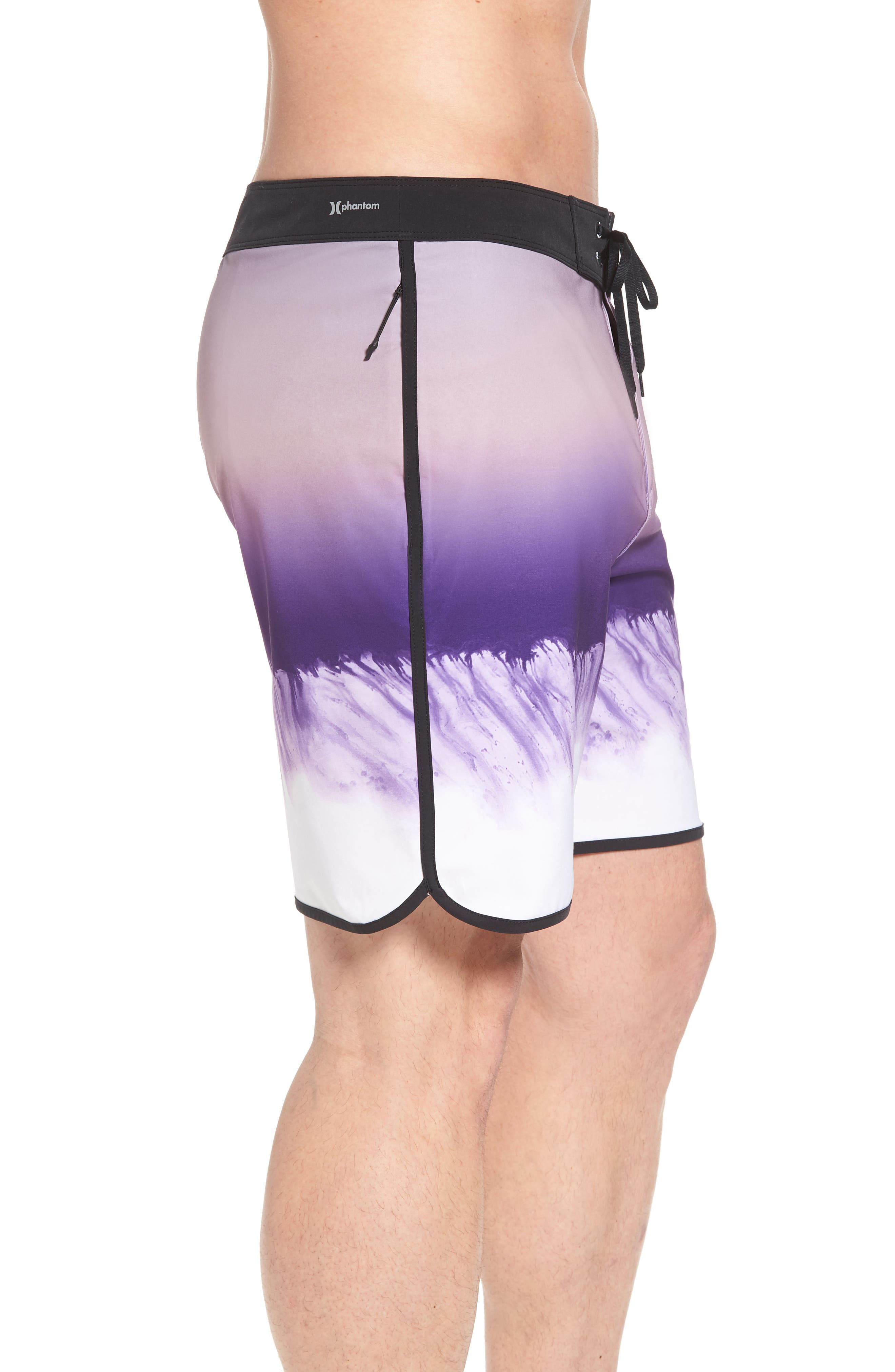 Phantom Estuary Board Shorts,                             Alternate thumbnail 5, color,                             Elemental Rose