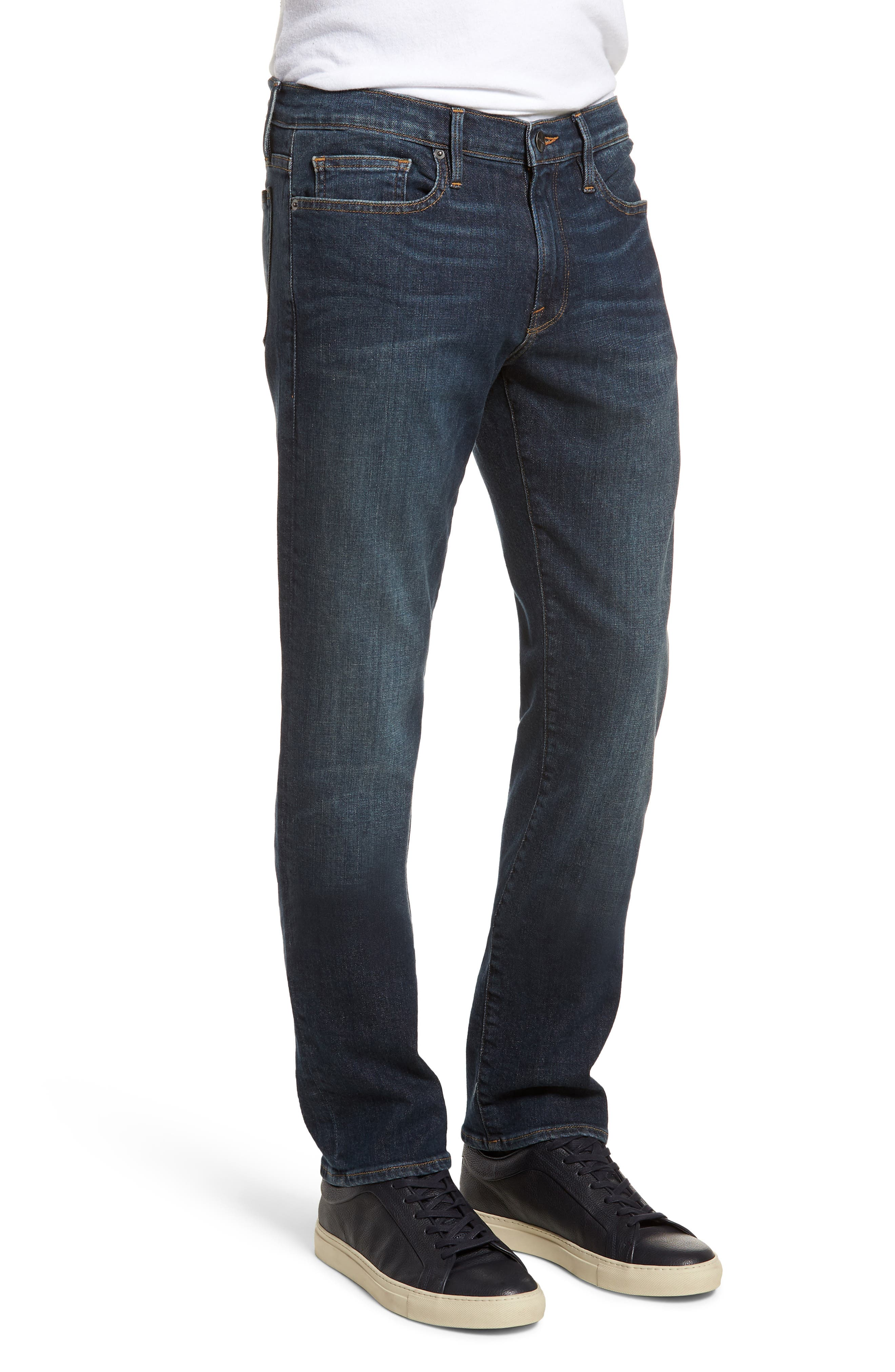 L'Homme Slim Fit Jeans,                             Alternate thumbnail 3, color,                             Joshua Tree
