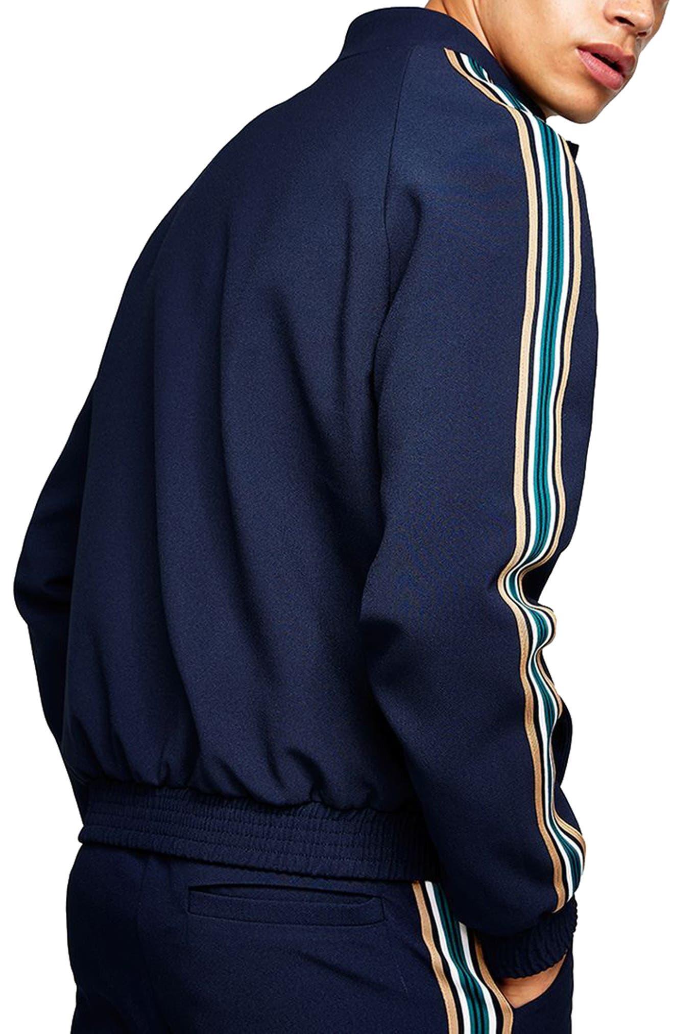 Track Jacket,                             Alternate thumbnail 2, color,                             Dark Blue Multi