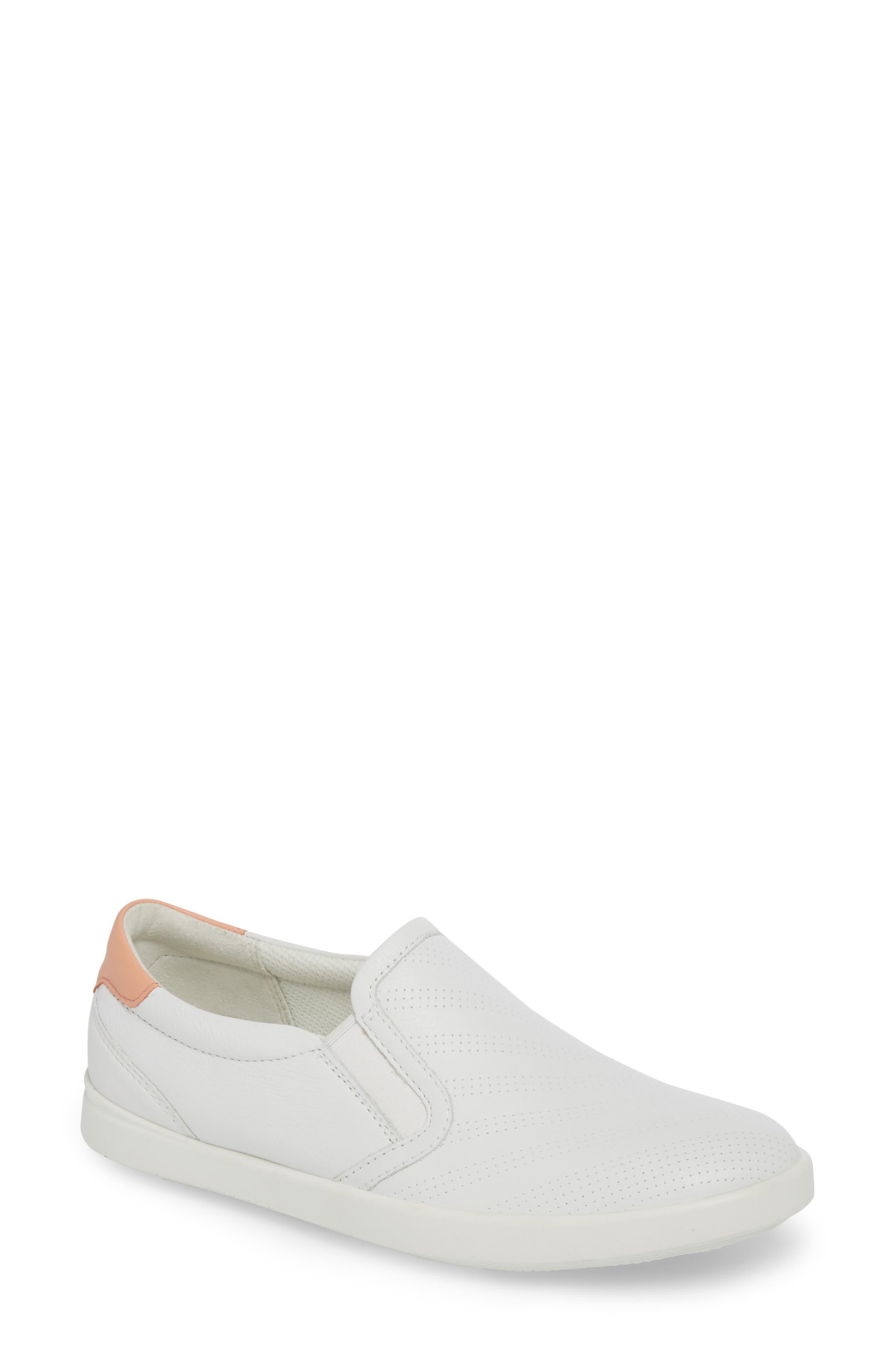 Alternate Image 1 Selected - ECCO 'Aimee' Slip-On Sneaker (Women)