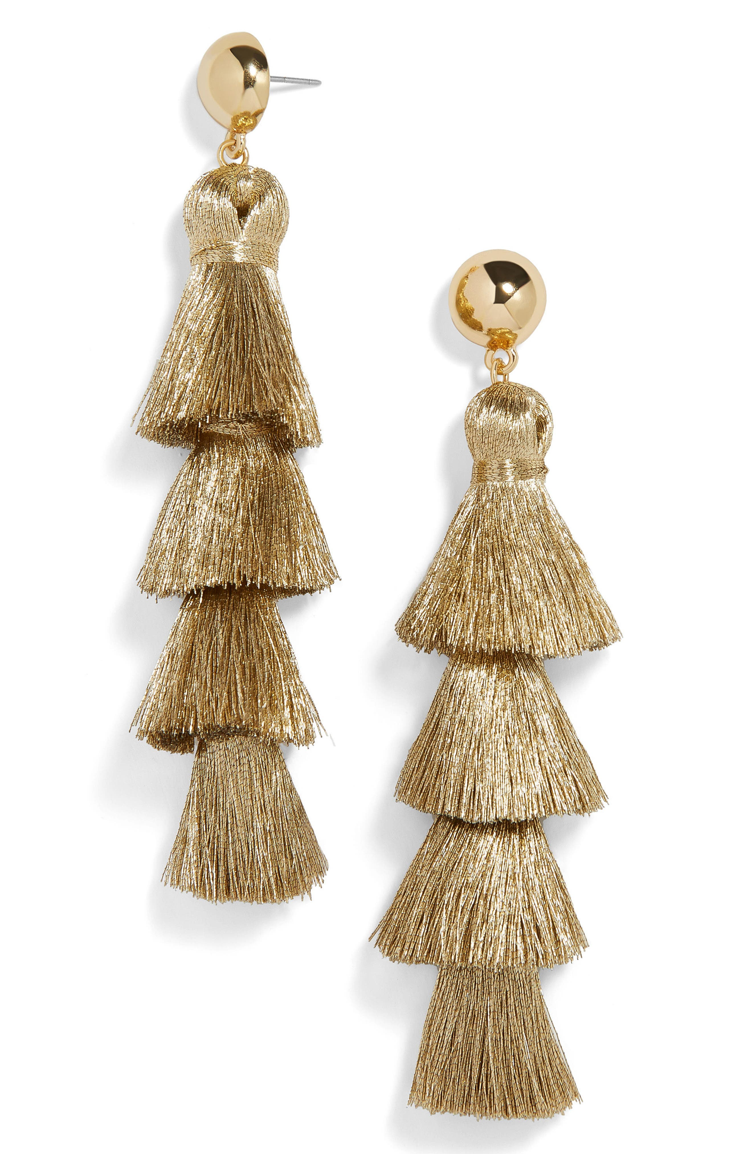 BaubleBar Gabriela Fringe Tassel Earrings