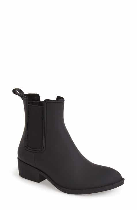 Jeffrey Campbell Stormy Waterproof Rain Boot (Women)