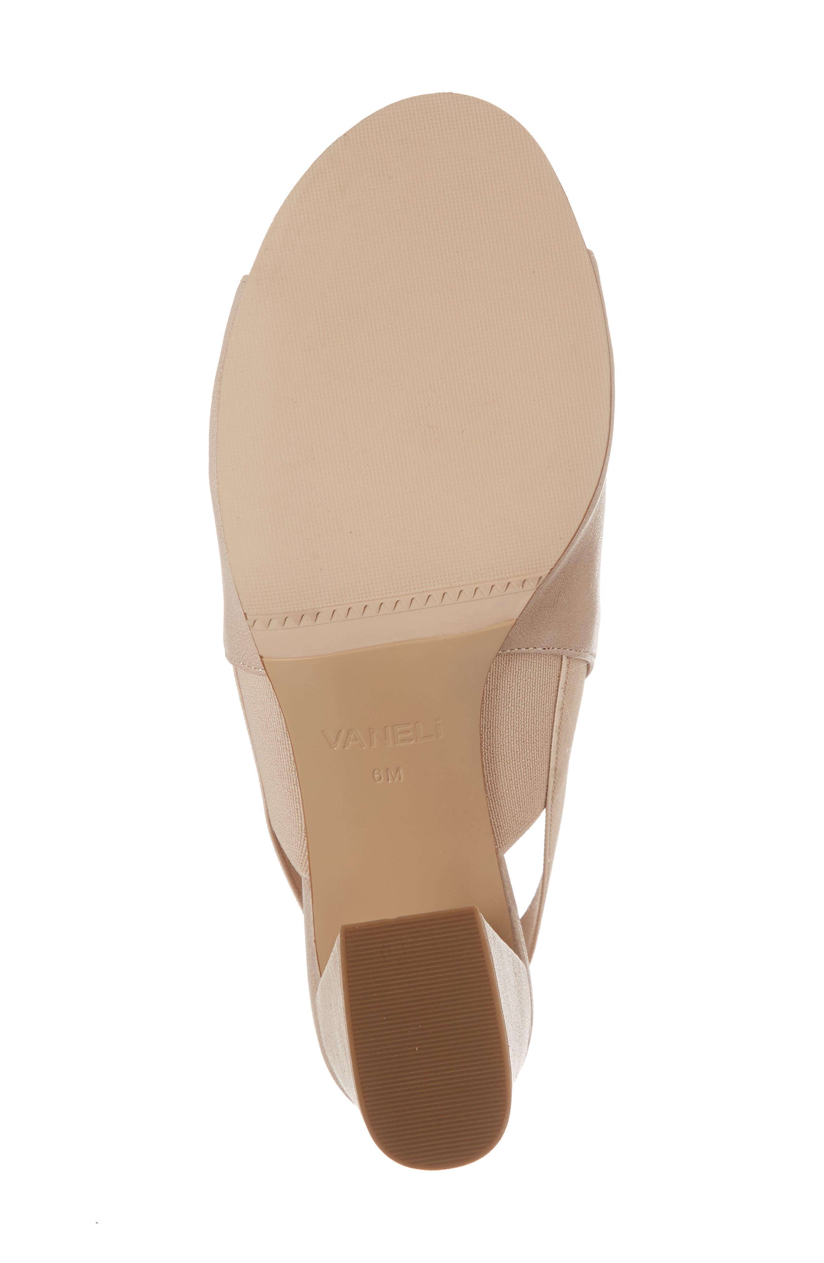 Alternate Image 5  - VANELi Berky Slingback Sandal (Women)