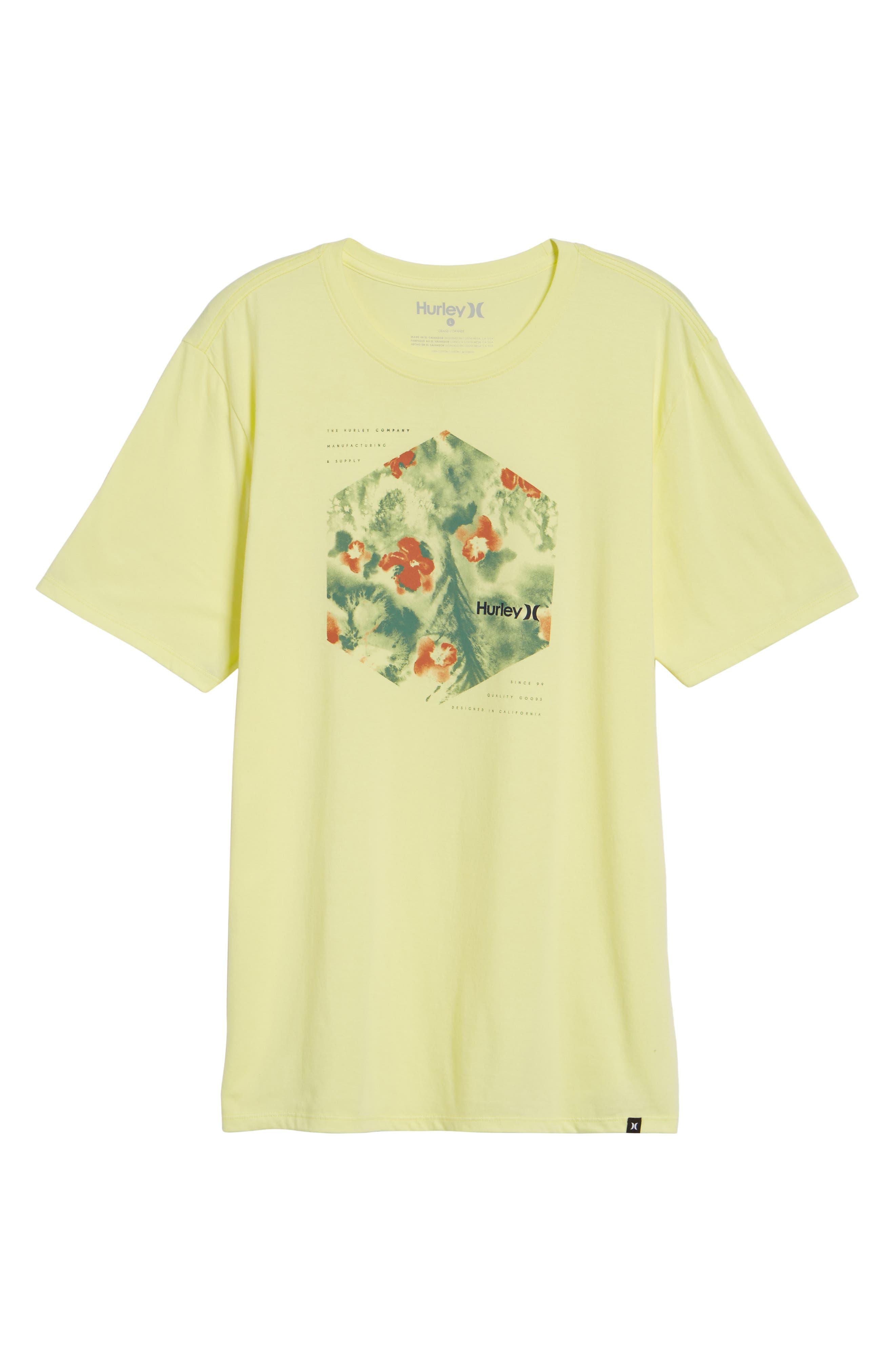 Alternate Image 6  - Hurley Watercolor T-Shirt