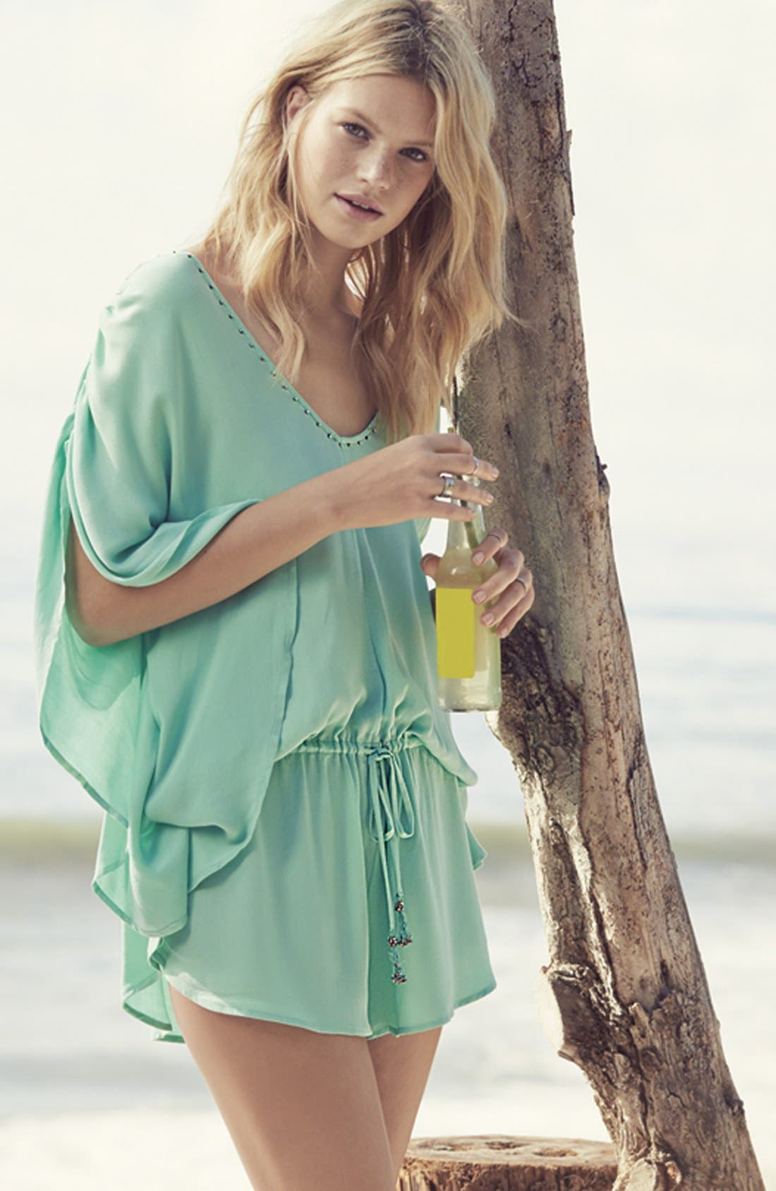 Alternate Image 4  - Seafolly Flowing Cover-Up Romper