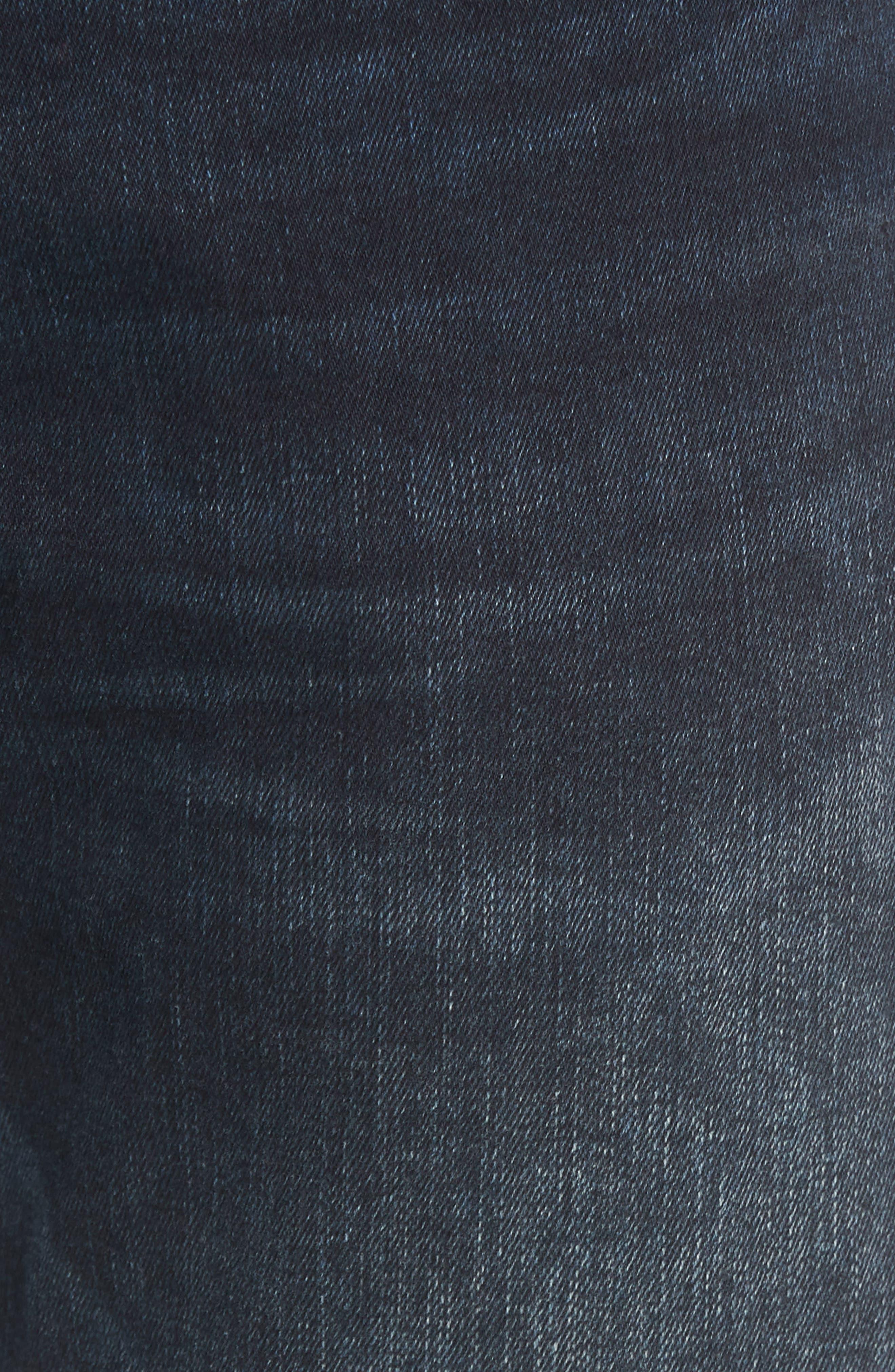 Jake Slim Fit Jeans,                             Alternate thumbnail 5, color,                             Ink Used Authentic Vintage