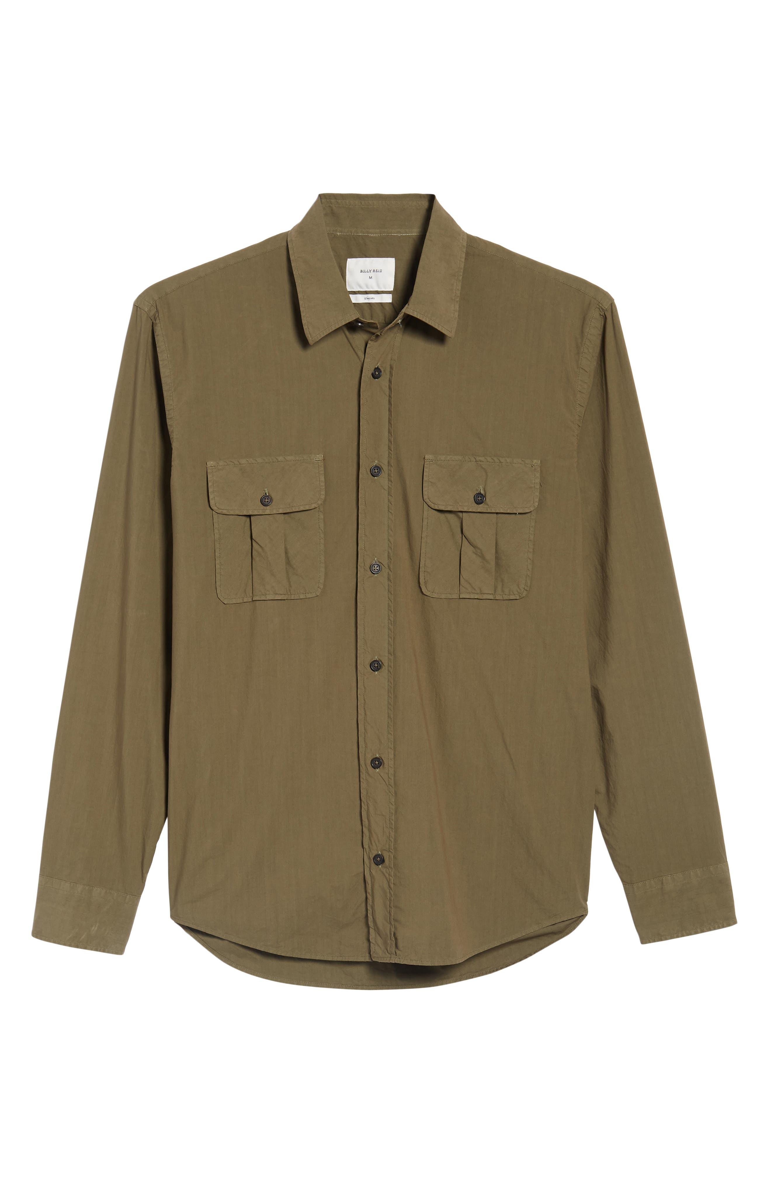 Alternate Image 6  - Billy Reid Brantley Slim Fit Sport Shirt
