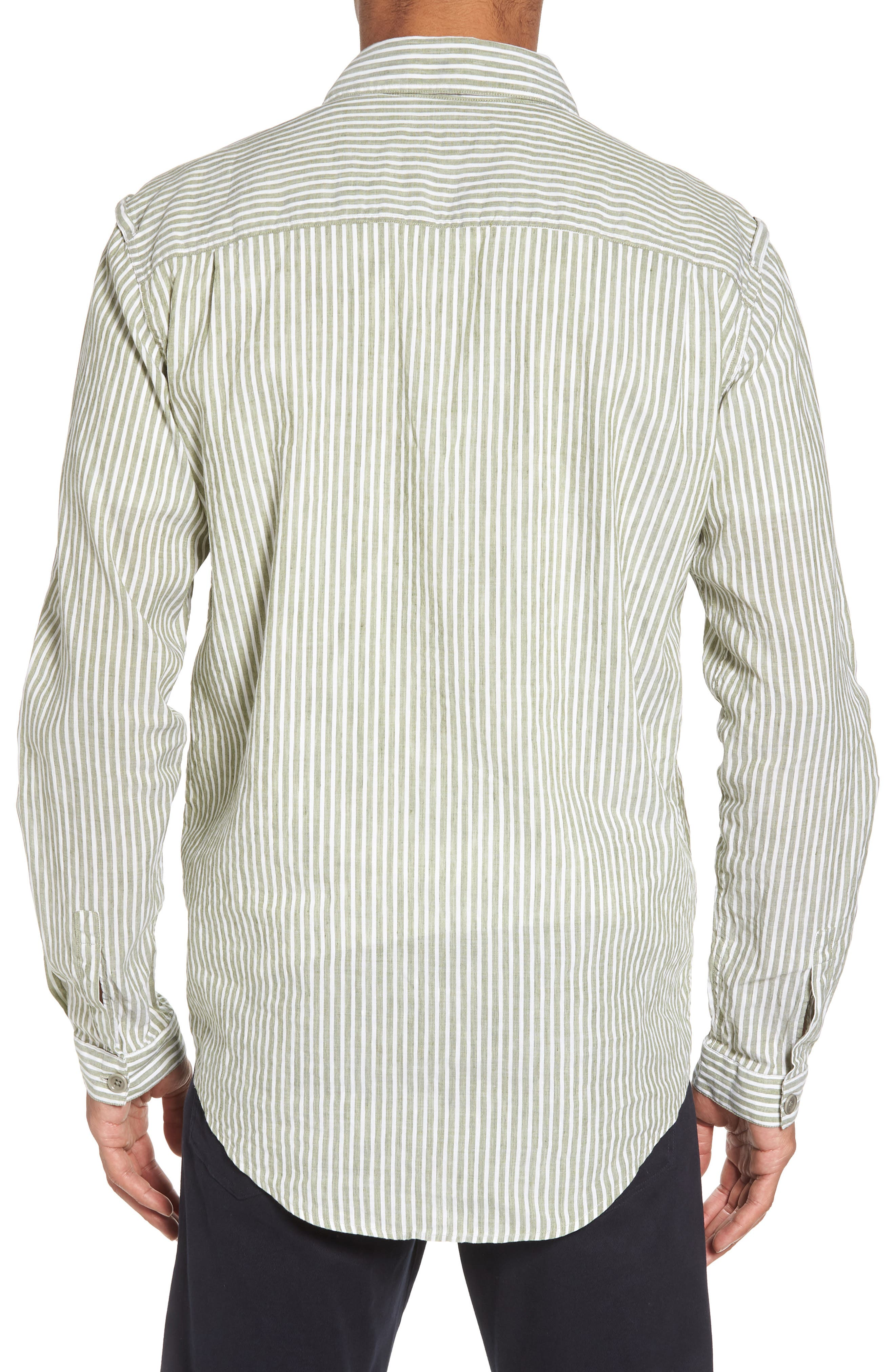 Alternate Image 2  - YMC Doc Savage Regular Fit Sport Shirt