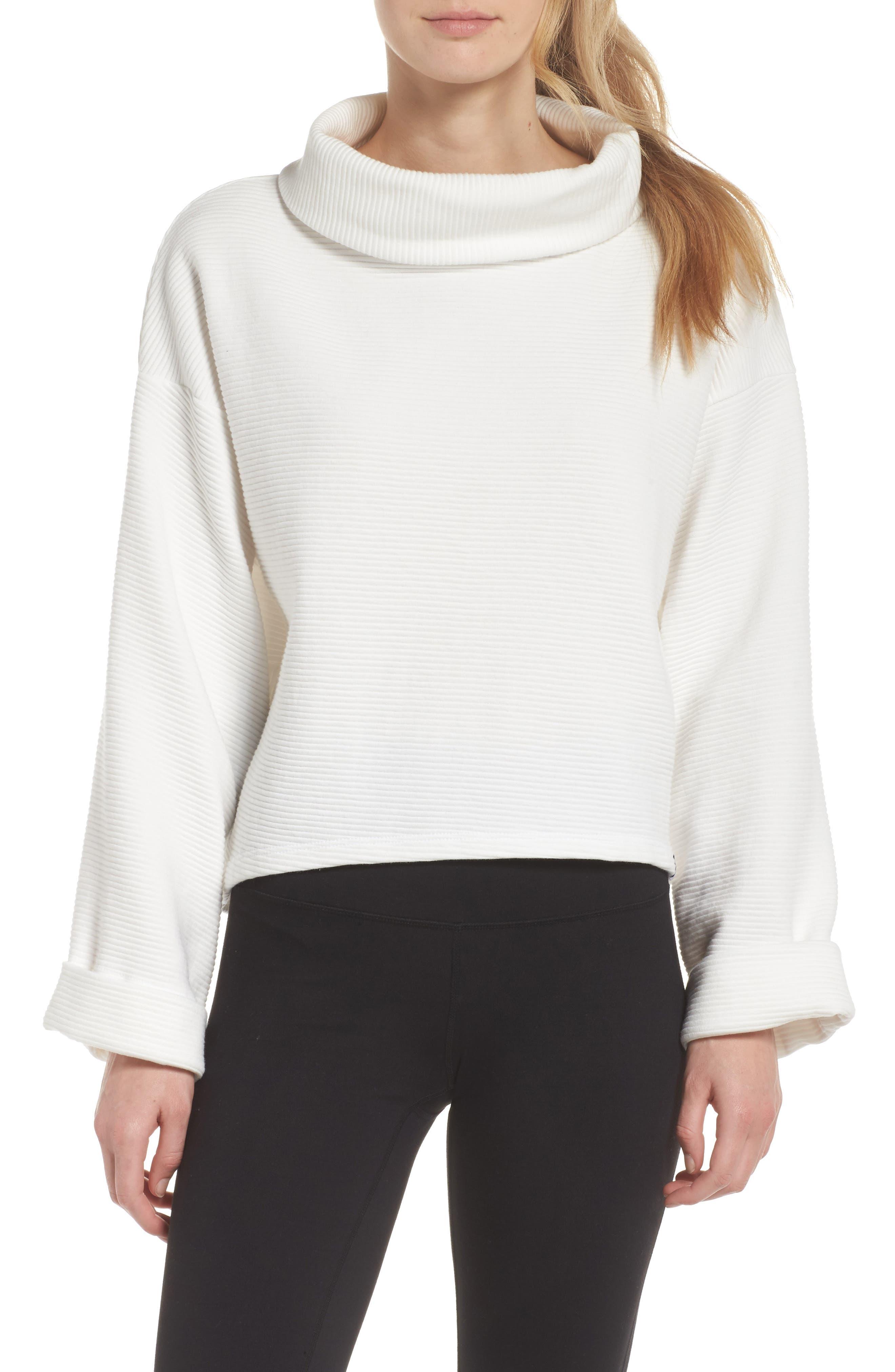 Whittier Sweatshirt,                         Main,                         color, White