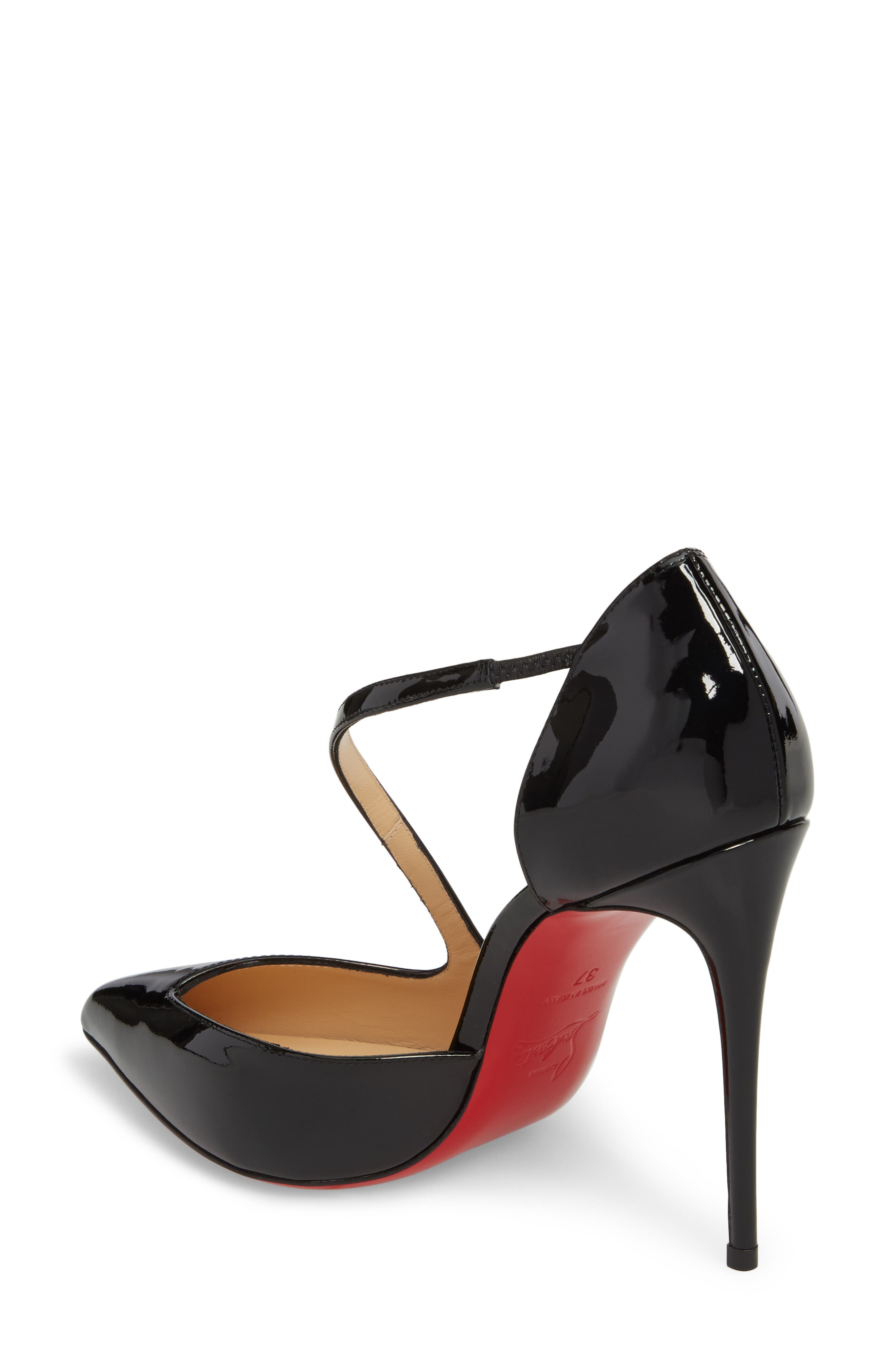 Alternate Image 2  - Christian Louboutin Strappy Half d'Orsay Pump