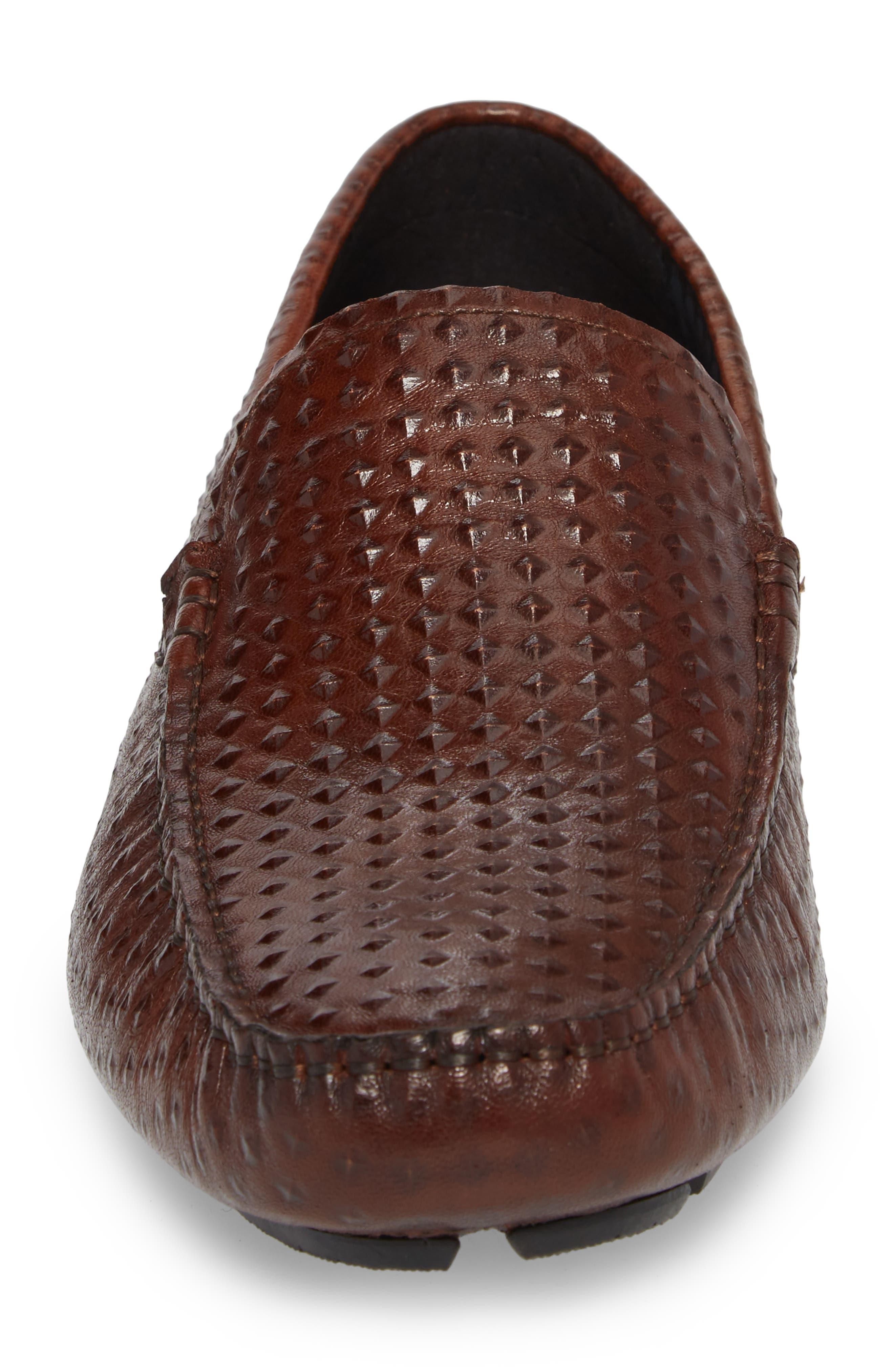 Driving Shoe,                             Alternate thumbnail 4, color,                             Cognac