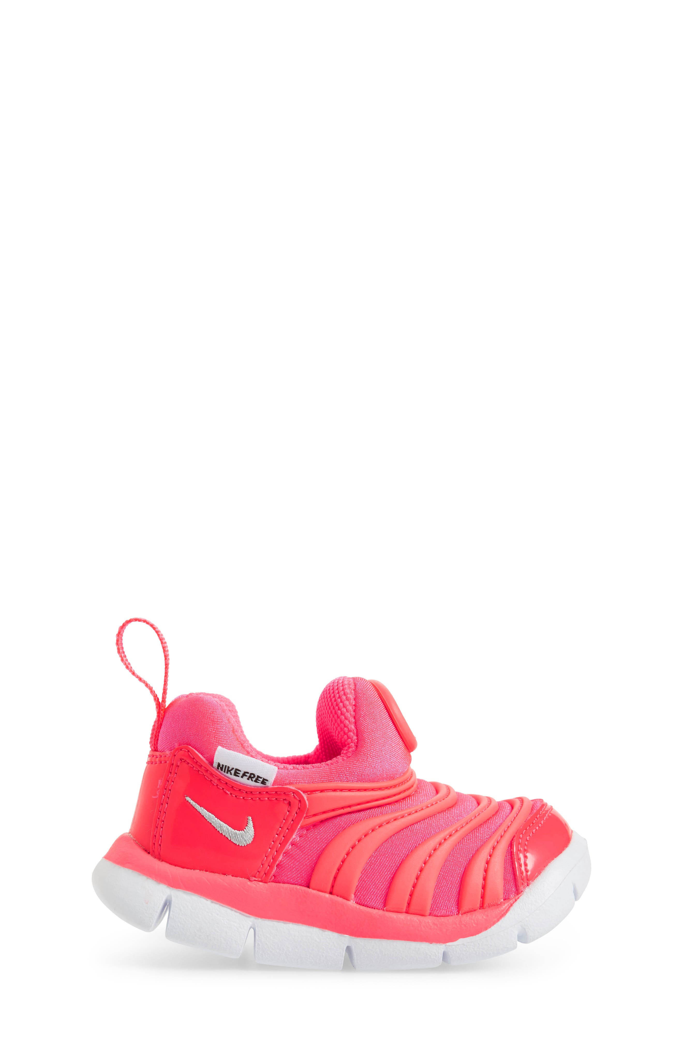 Dynamo Free Sneaker,                             Alternate thumbnail 3, color,                             Racer Pink/ Silver/ Hot Punch