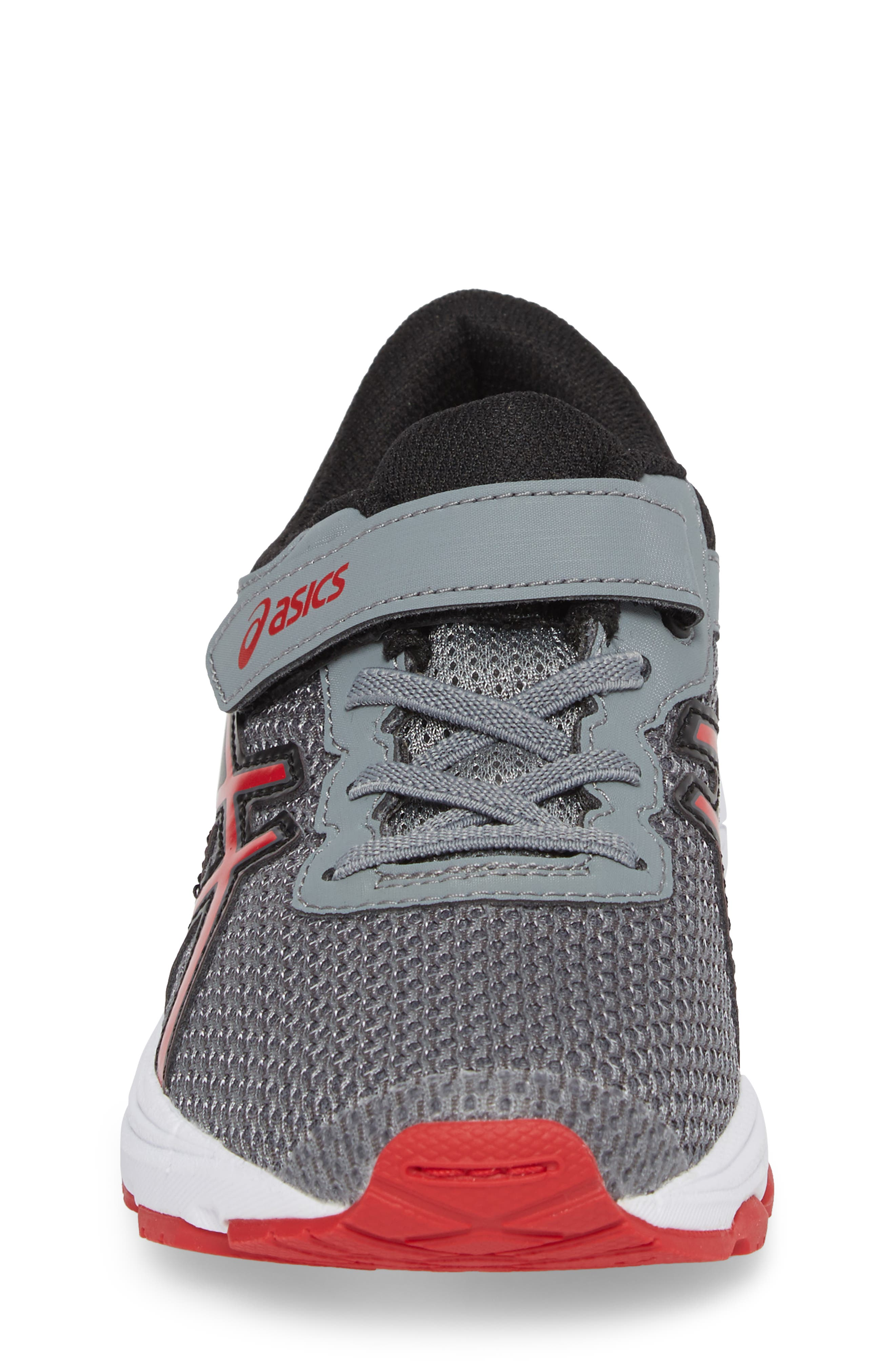 Asics GT-1000<sup>™</sup> 6 PS Sneaker,                             Alternate thumbnail 4, color,                             Stone Grey/ Classic Red/ Black