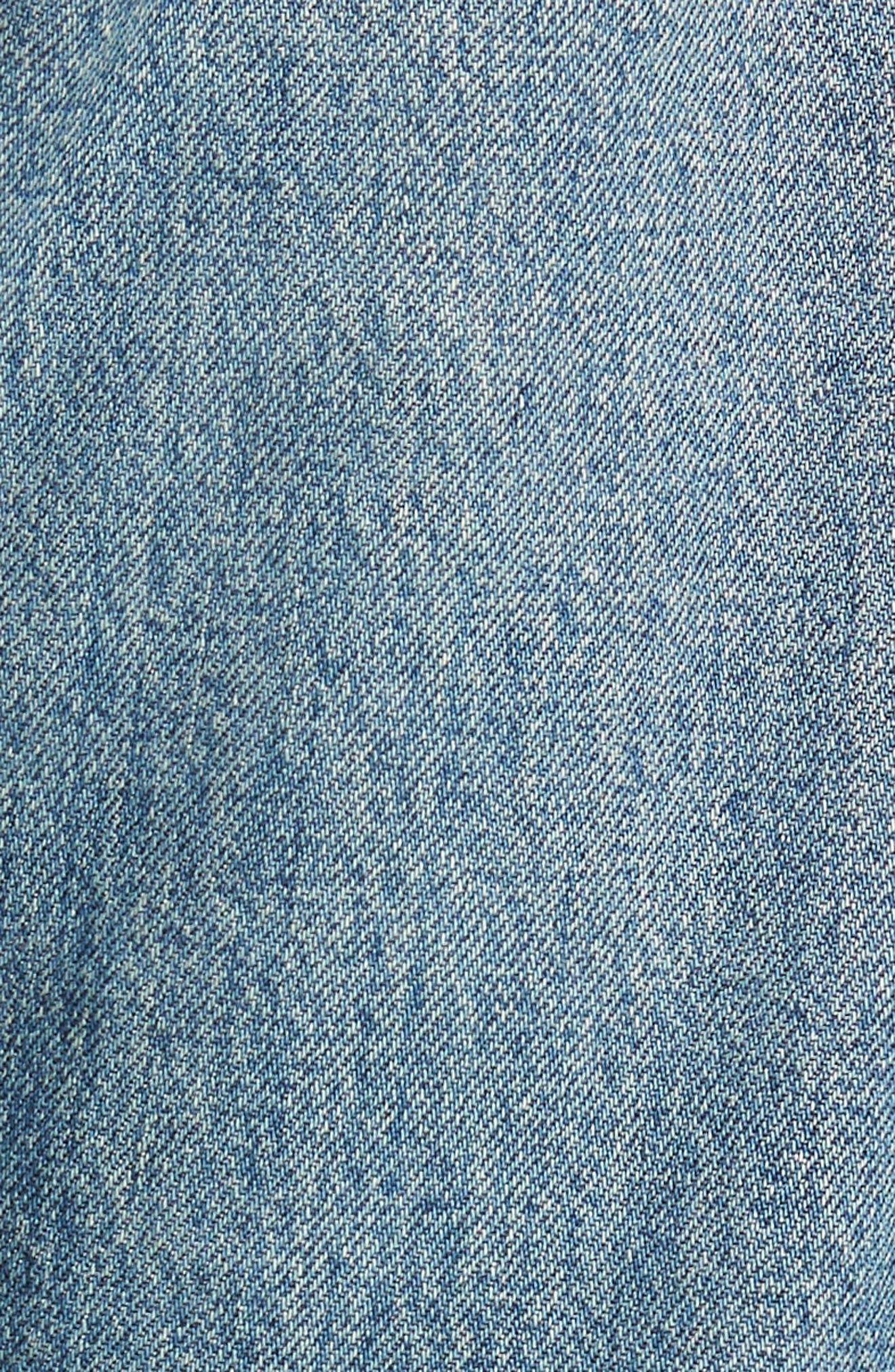 Emerson Crop Slim Boyfriend Jeans,                             Alternate thumbnail 6, color,                             Somerset