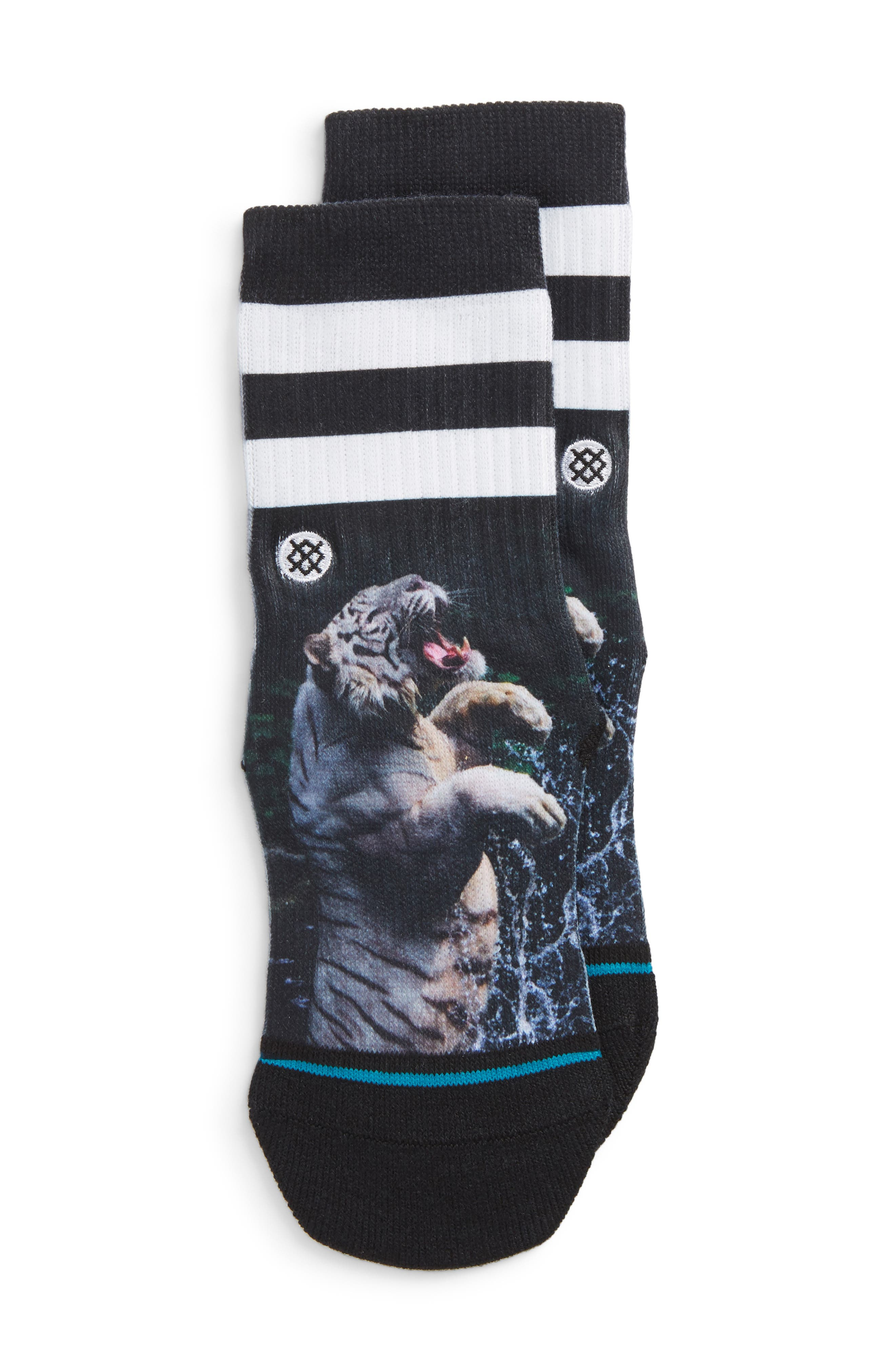 Print Socks,                         Main,                         color, Blue