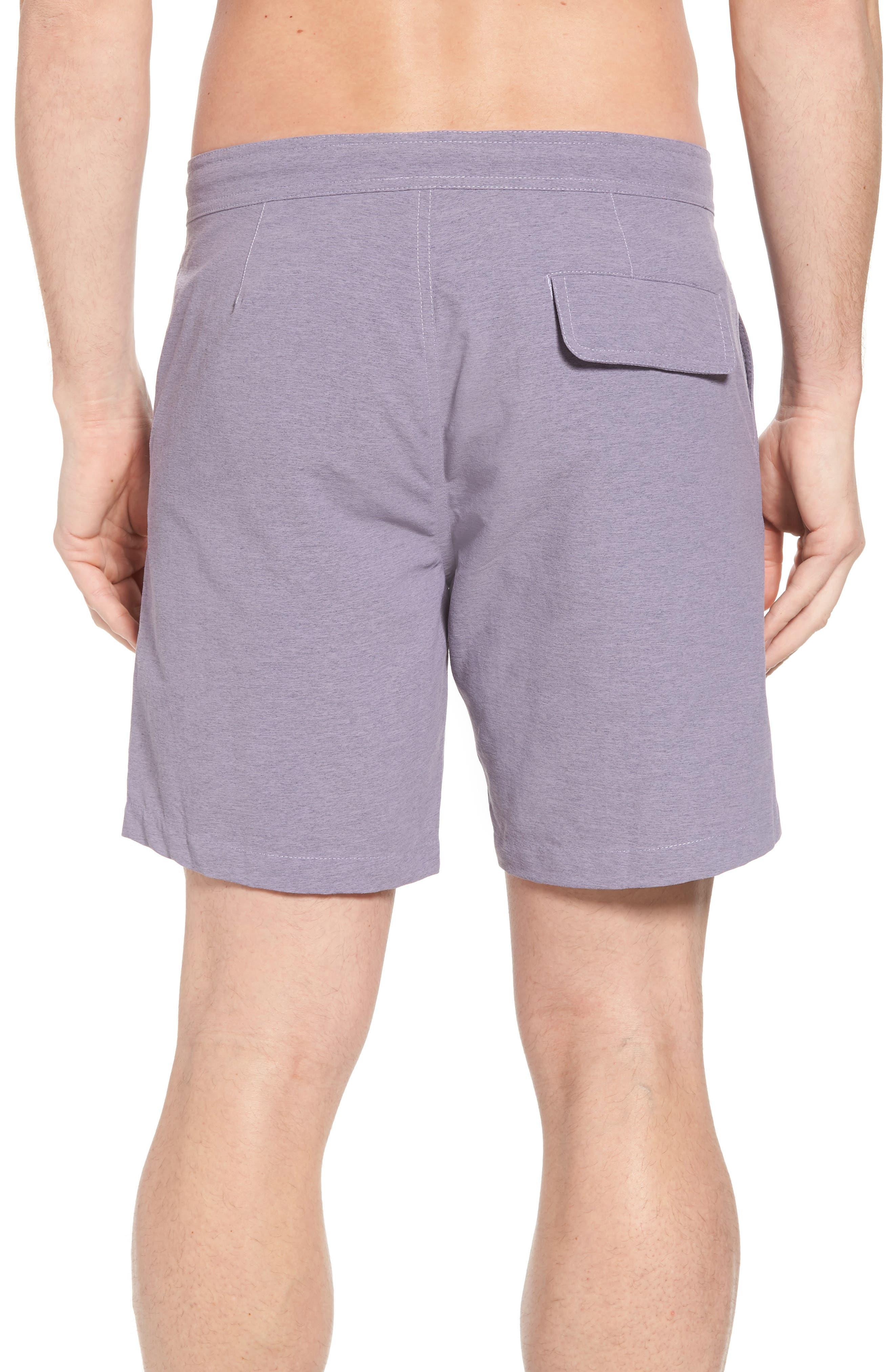 Bond Hybrid Shorts,                             Alternate thumbnail 2, color,                             Venice Purple