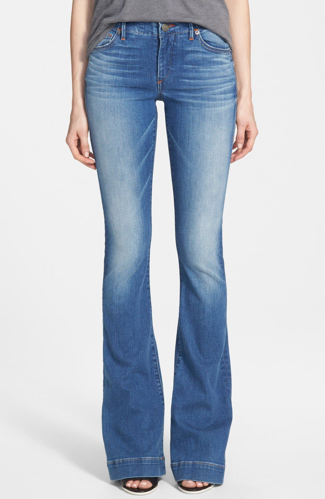 Alternate Image 1 Selected - True Religion Brand Jeans 'Charlize' Flare Jeans (Edenhurst)
