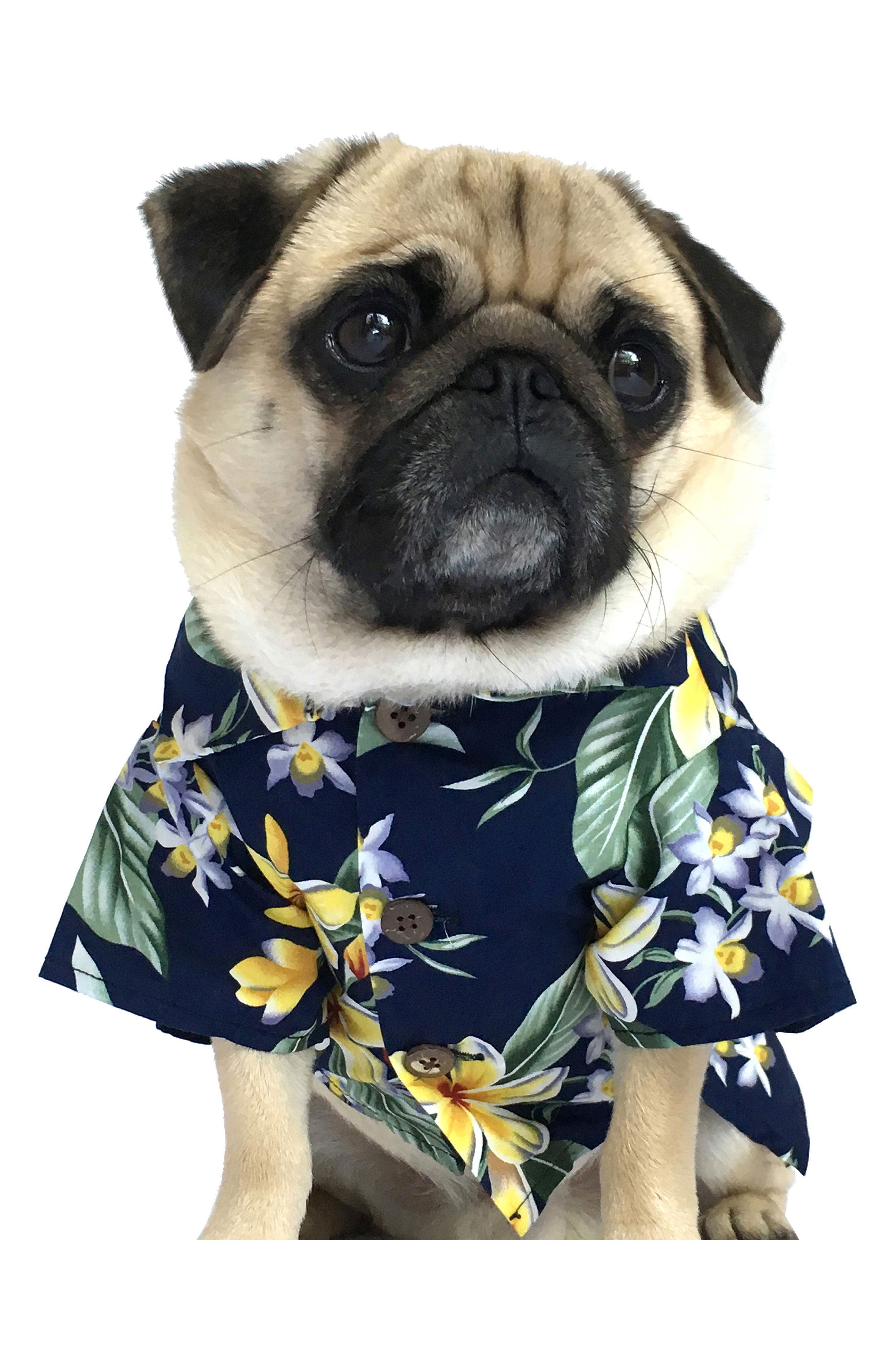 Dog Threads Aloha BBQ Dog Shirt