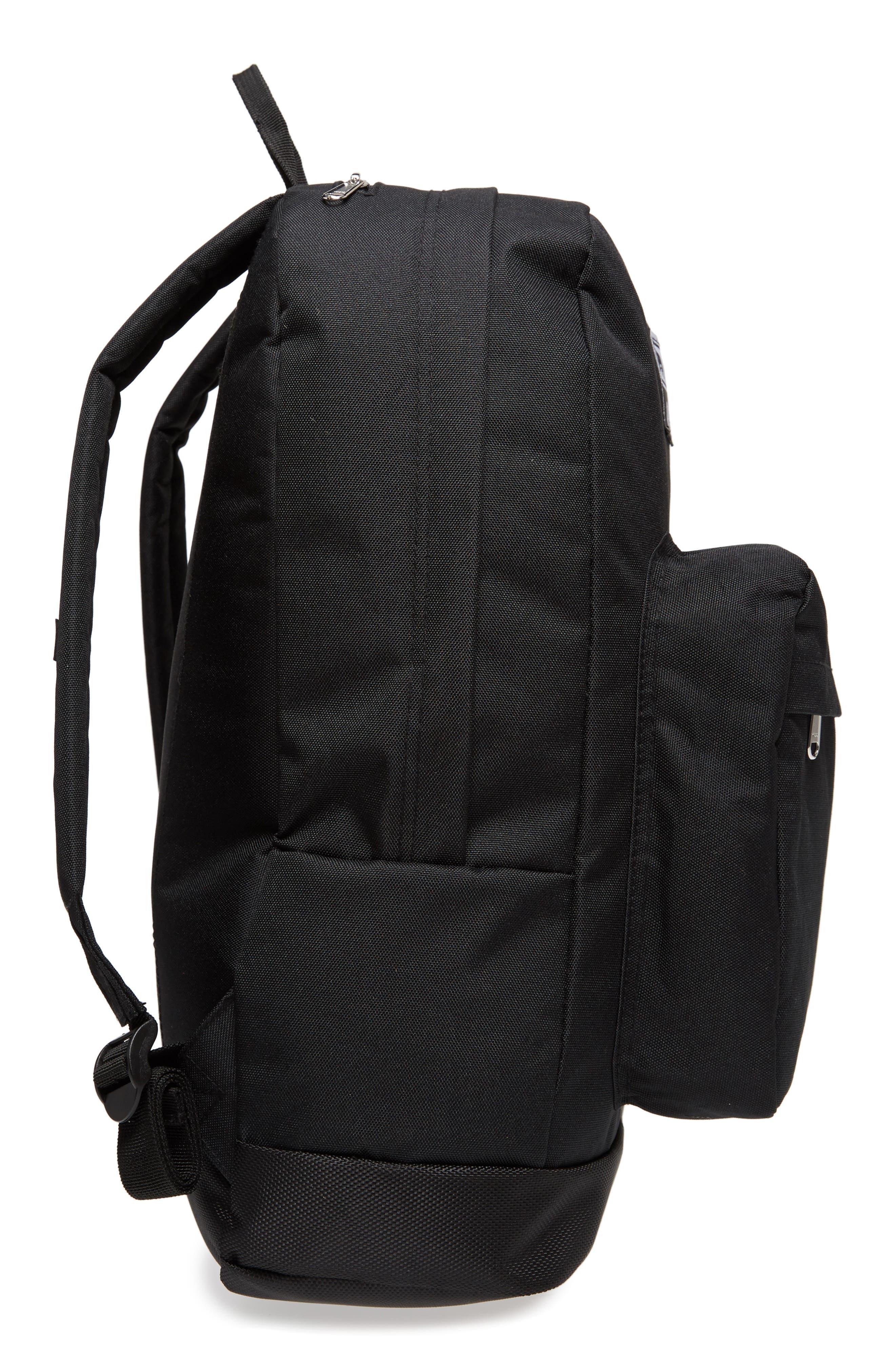 Drop Out Juvee Backpack,                             Alternate thumbnail 5, color,                             Black