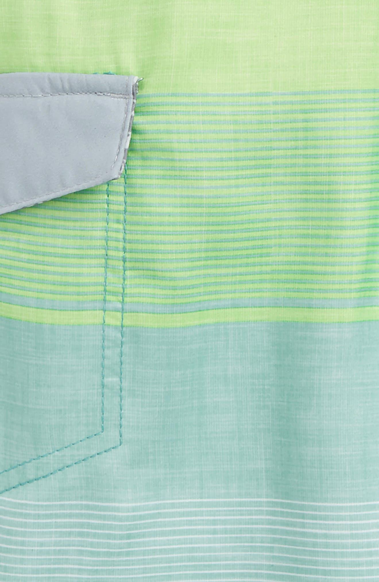 Good Vibes Board Shorts,                             Alternate thumbnail 2, color,                             Green
