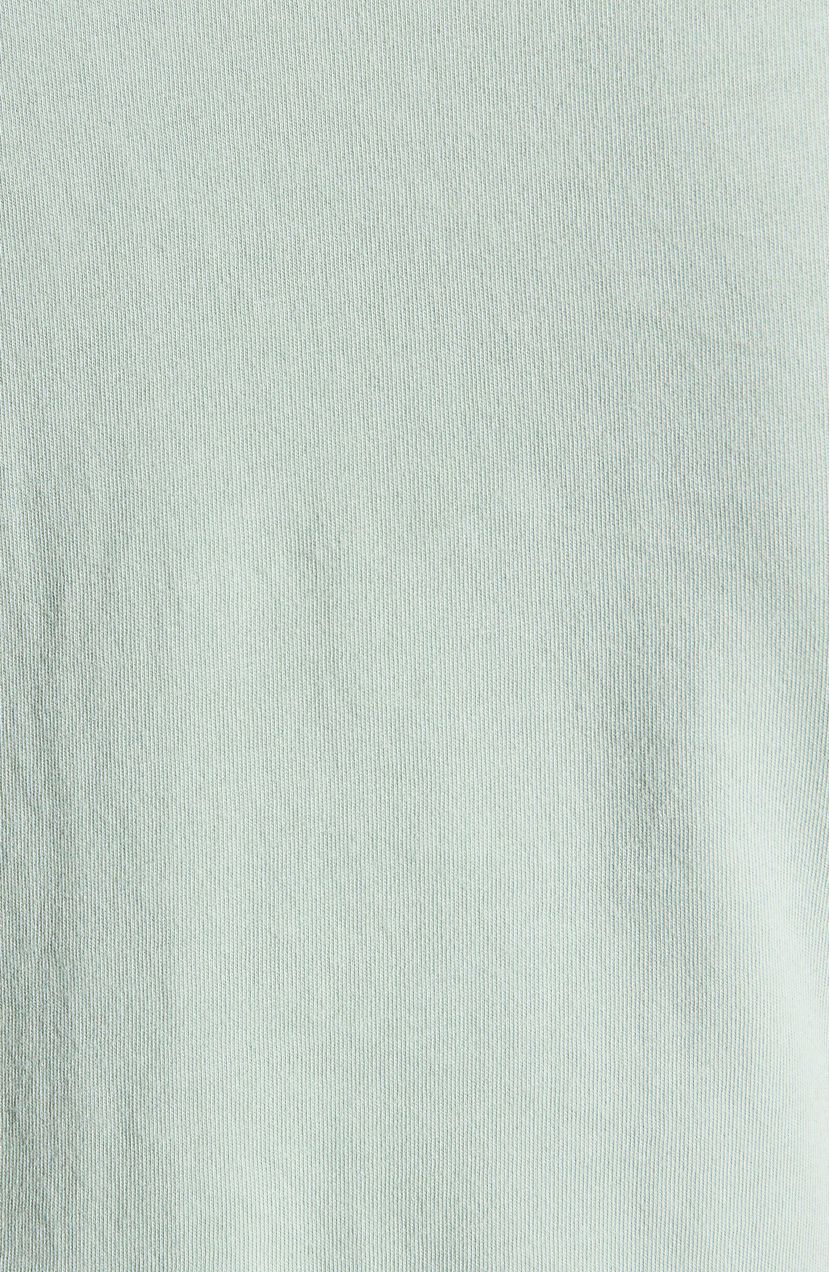 Muscle P Relaxed T-Shirt Dress,                             Alternate thumbnail 3, color,                             Light Moss