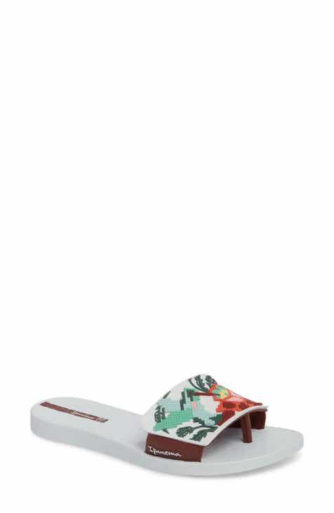 d26e540af85 Ipanema Nectar Floral Slide Sandal (Women)