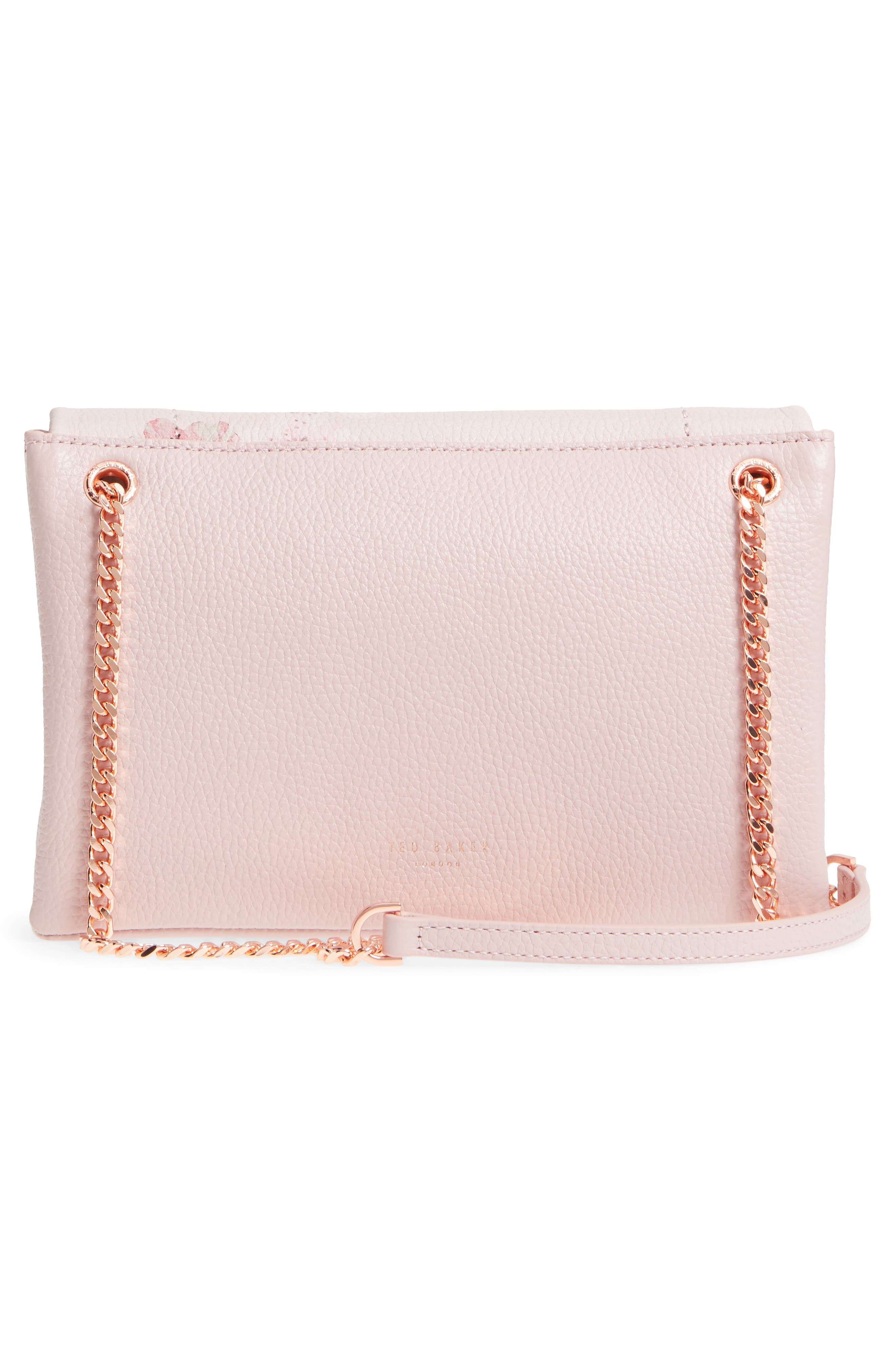 Alternate Image 3  - Ted Baker London Jayy Soft Blossom Leather Crossbody Bag