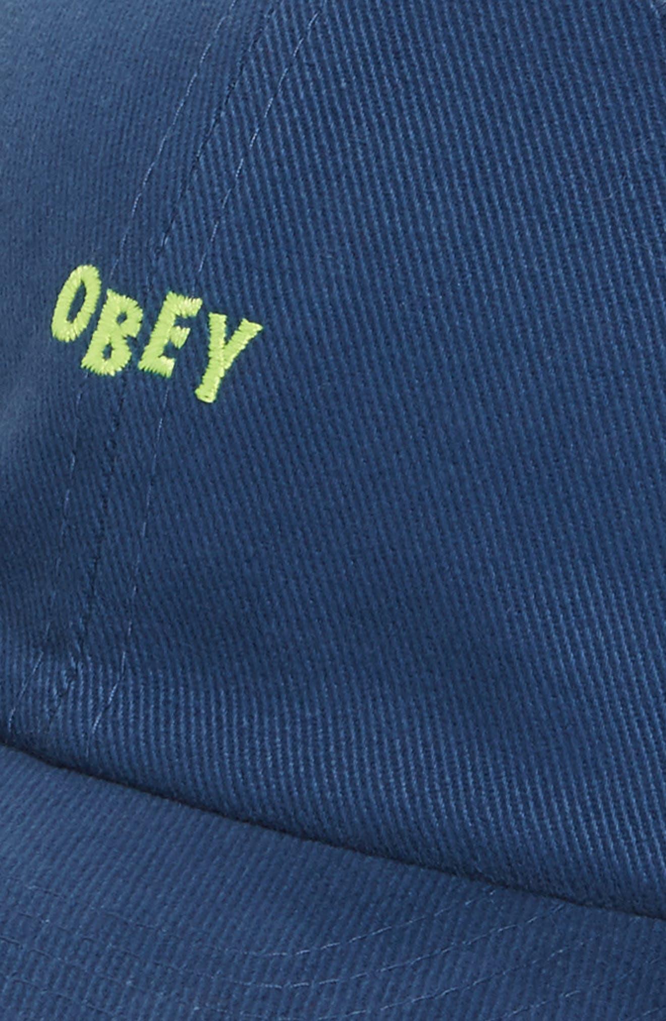 Cutty Snapback Cap,                             Alternate thumbnail 3, color,                             Dusty Blue