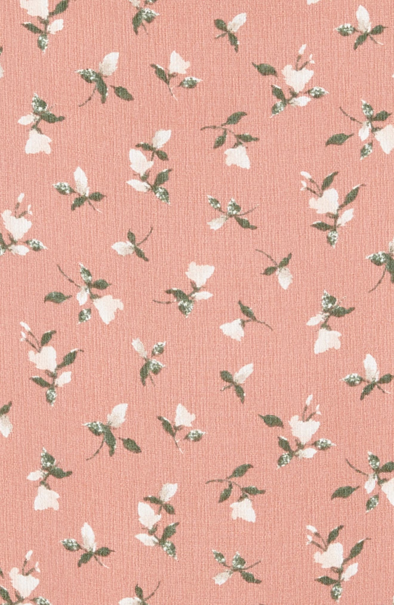 Floral Print Sundress,                             Alternate thumbnail 3, color,                             Pink