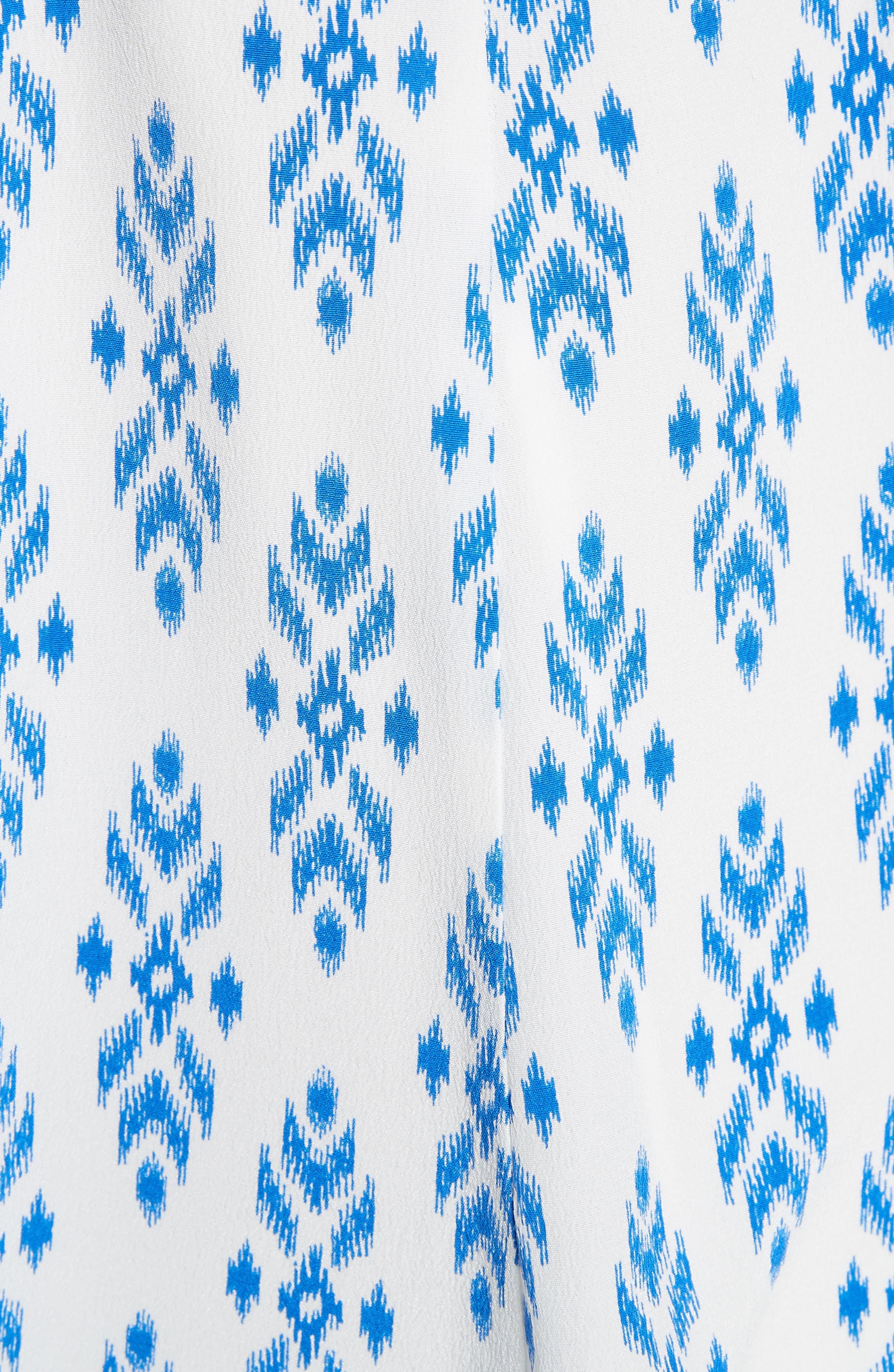 Brighton Silk Tank Top,                             Alternate thumbnail 5, color,                             Baja Blue