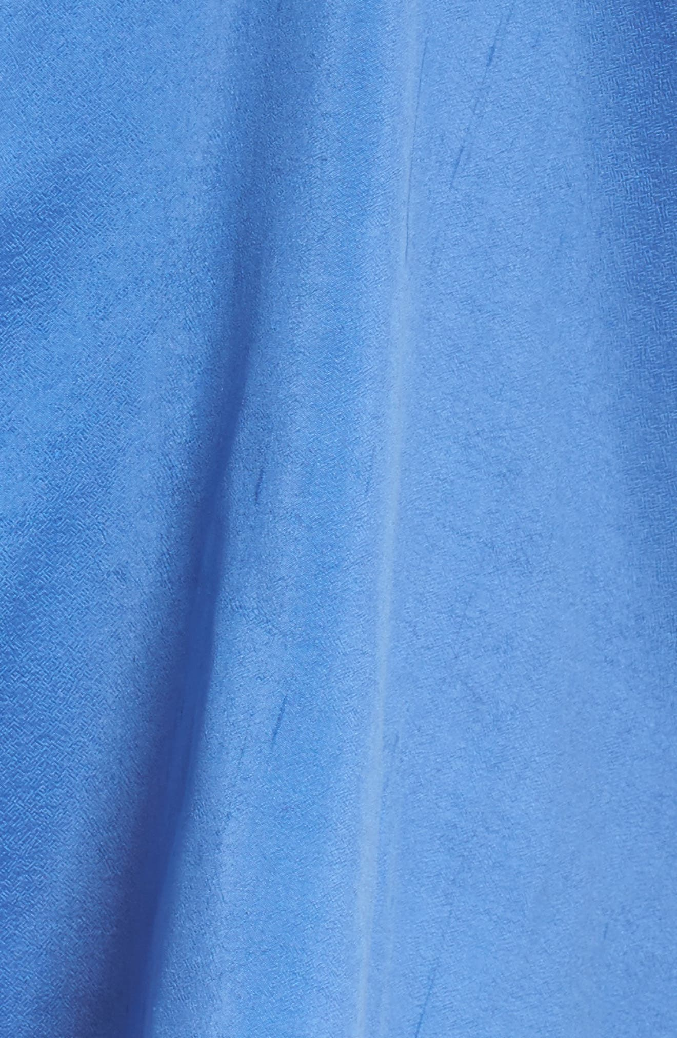 Notch Collar Shirt,                             Alternate thumbnail 5, color,                             Blue Bell