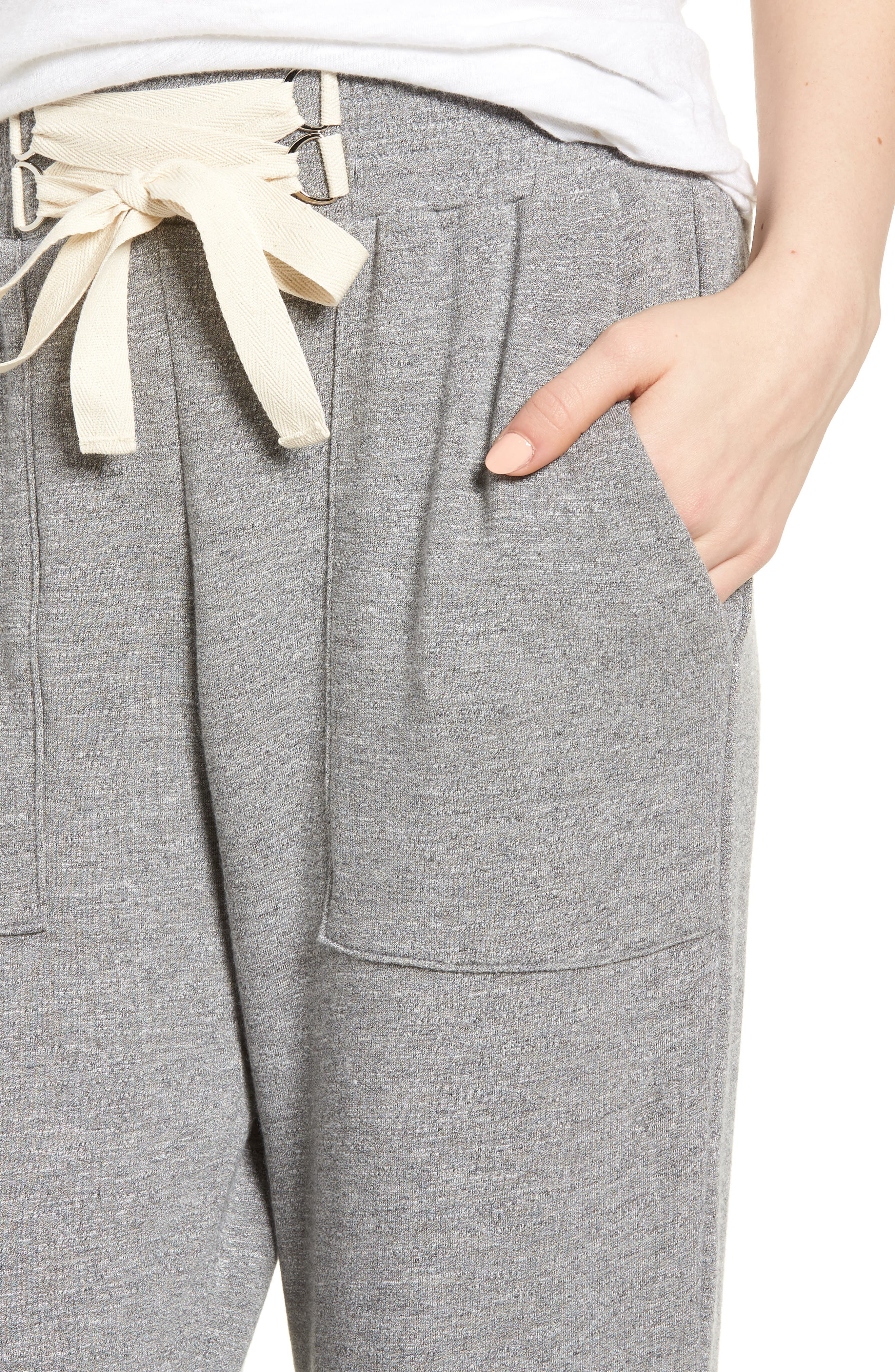 Dream Active Jogger Pants,                             Alternate thumbnail 4, color,                             Heather Grey