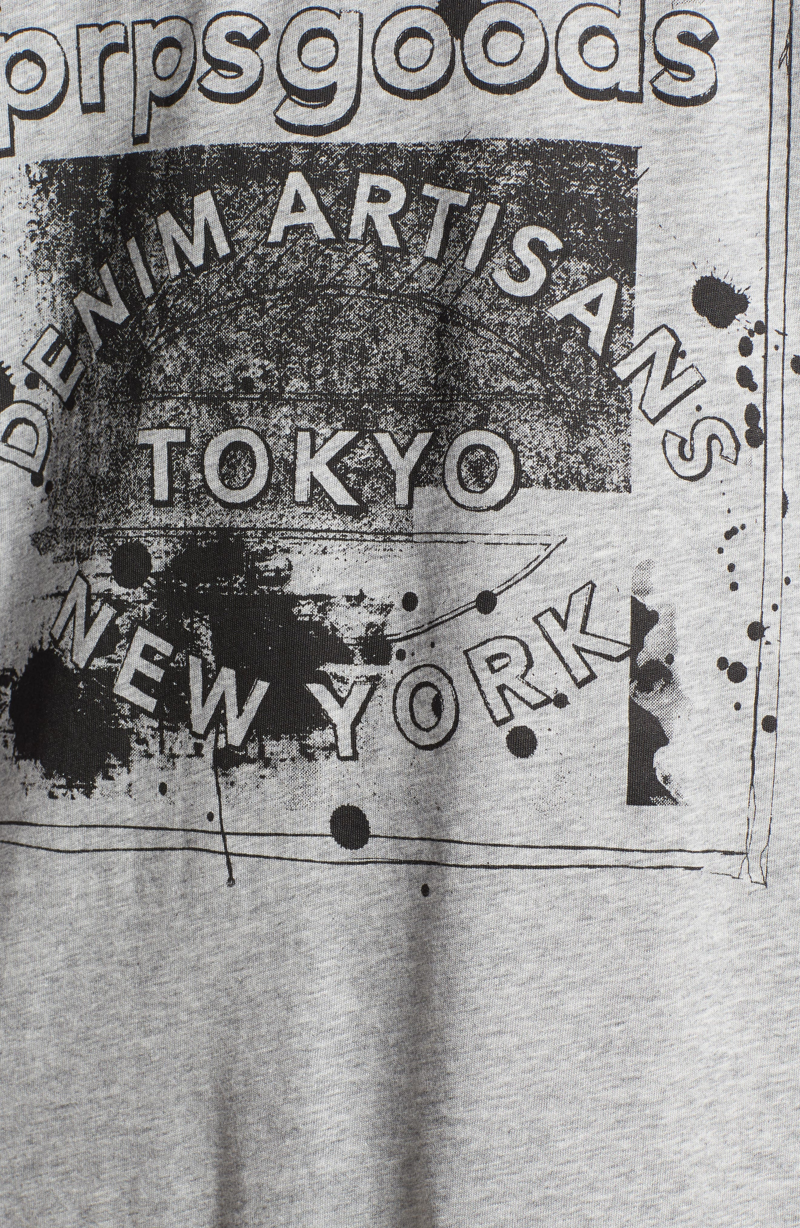 Logo Graphic T-Shirt,                             Alternate thumbnail 5, color,                             Grey