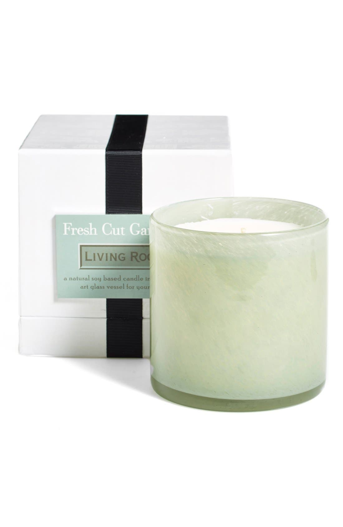 'Fresh Cut Gardenia - Living Room' Candle,                             Alternate thumbnail 2, color,                             No Color