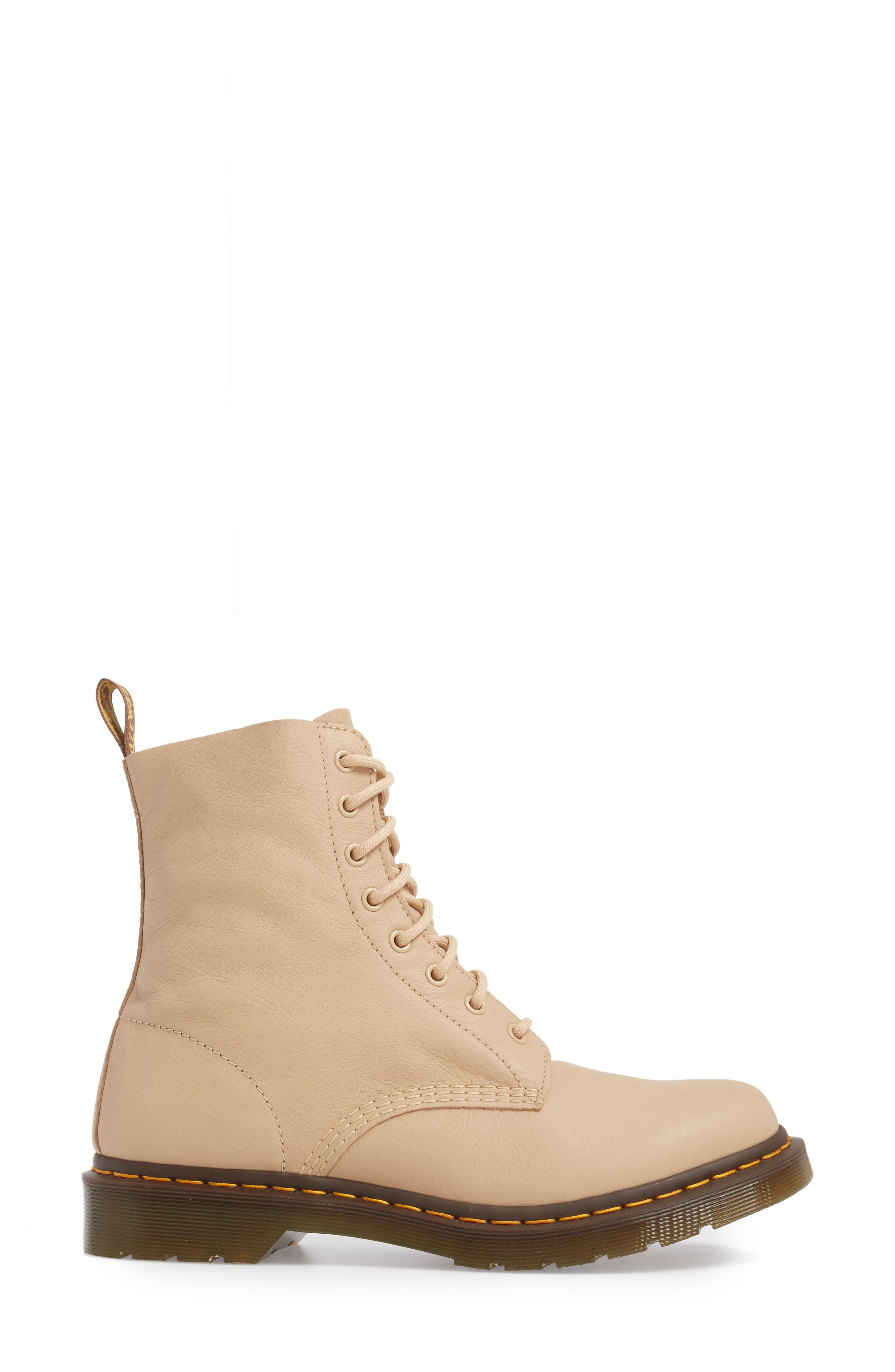 Pascal Boot,                             Alternate thumbnail 3, color,                             Nude Virginia Leather