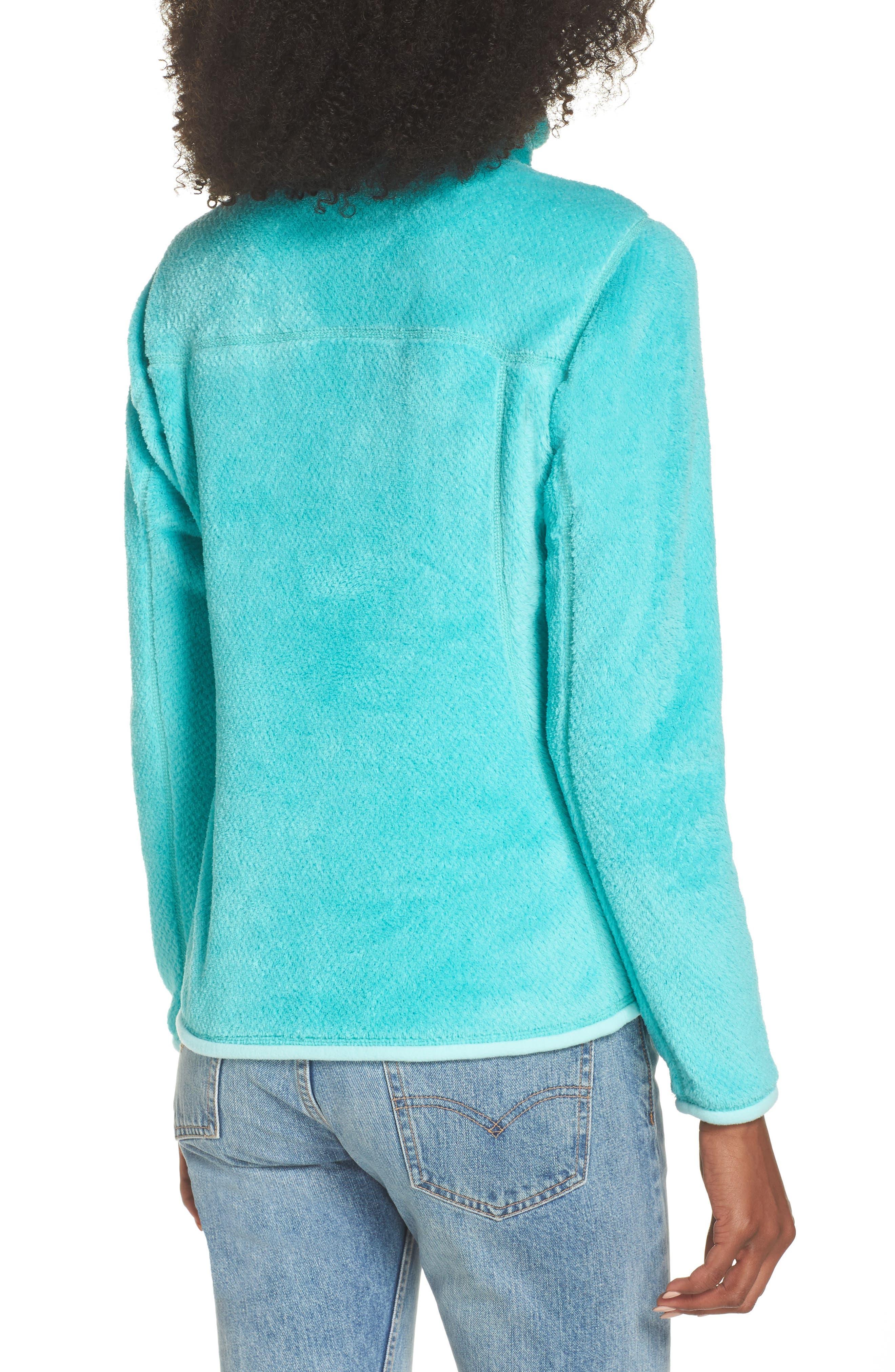 Re-Tool Snap-T<sup>®</sup> Fleece Pullover,                             Alternate thumbnail 2, color,                             Bend Blue/ Strait Blue X Dye