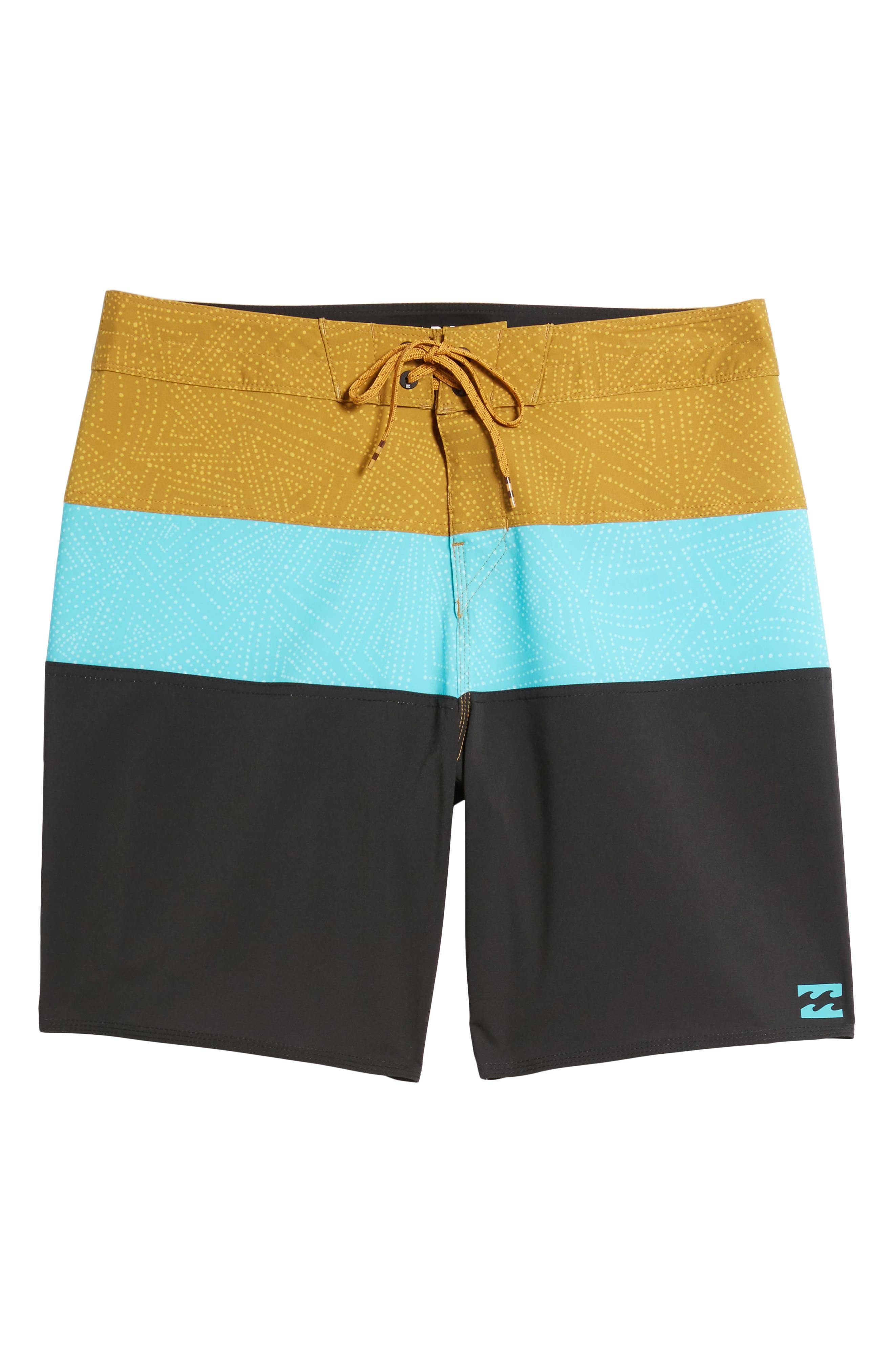 Tribong X Board Shorts,                             Alternate thumbnail 6, color,                             Aqua