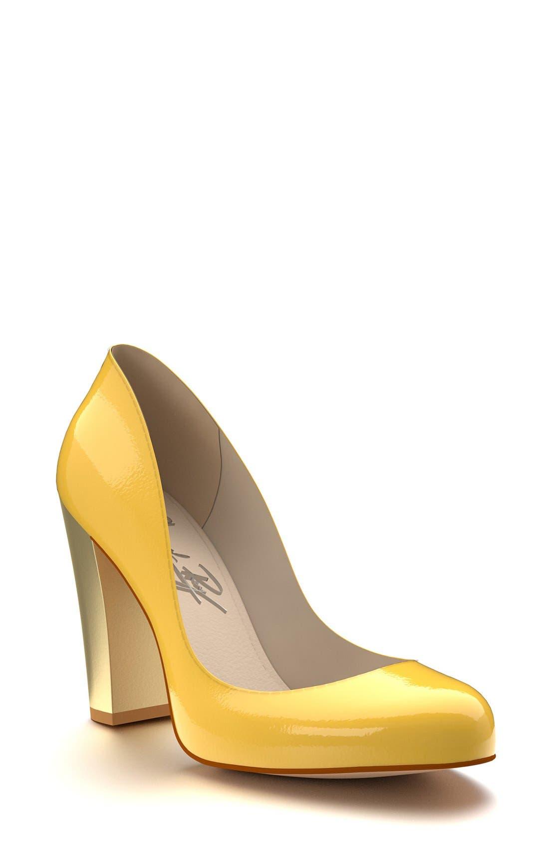 Alternate Image 1 Selected - Shoes of Prey Block Heel  Pump (Women)